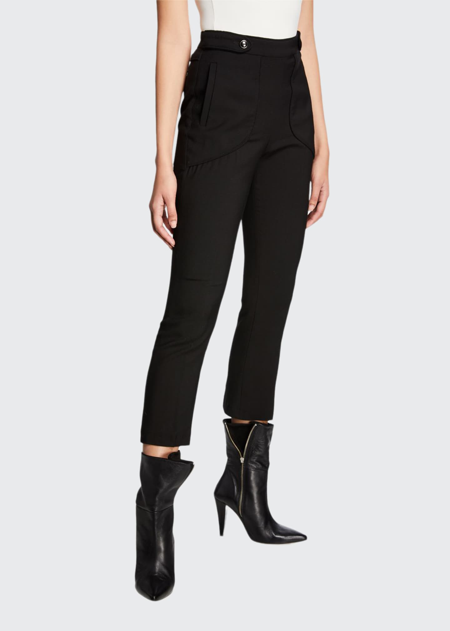 Image 1 of 3: Sauly High-Rise Skinny Pants
