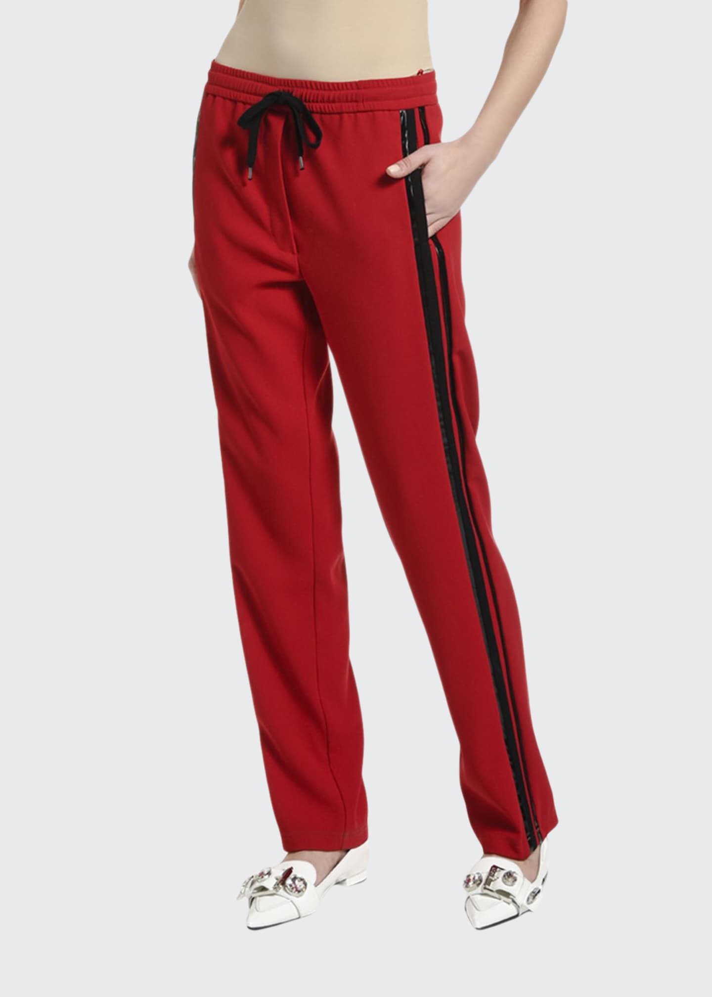 No. 21 Side-Stripe Drawstring Sweatpants