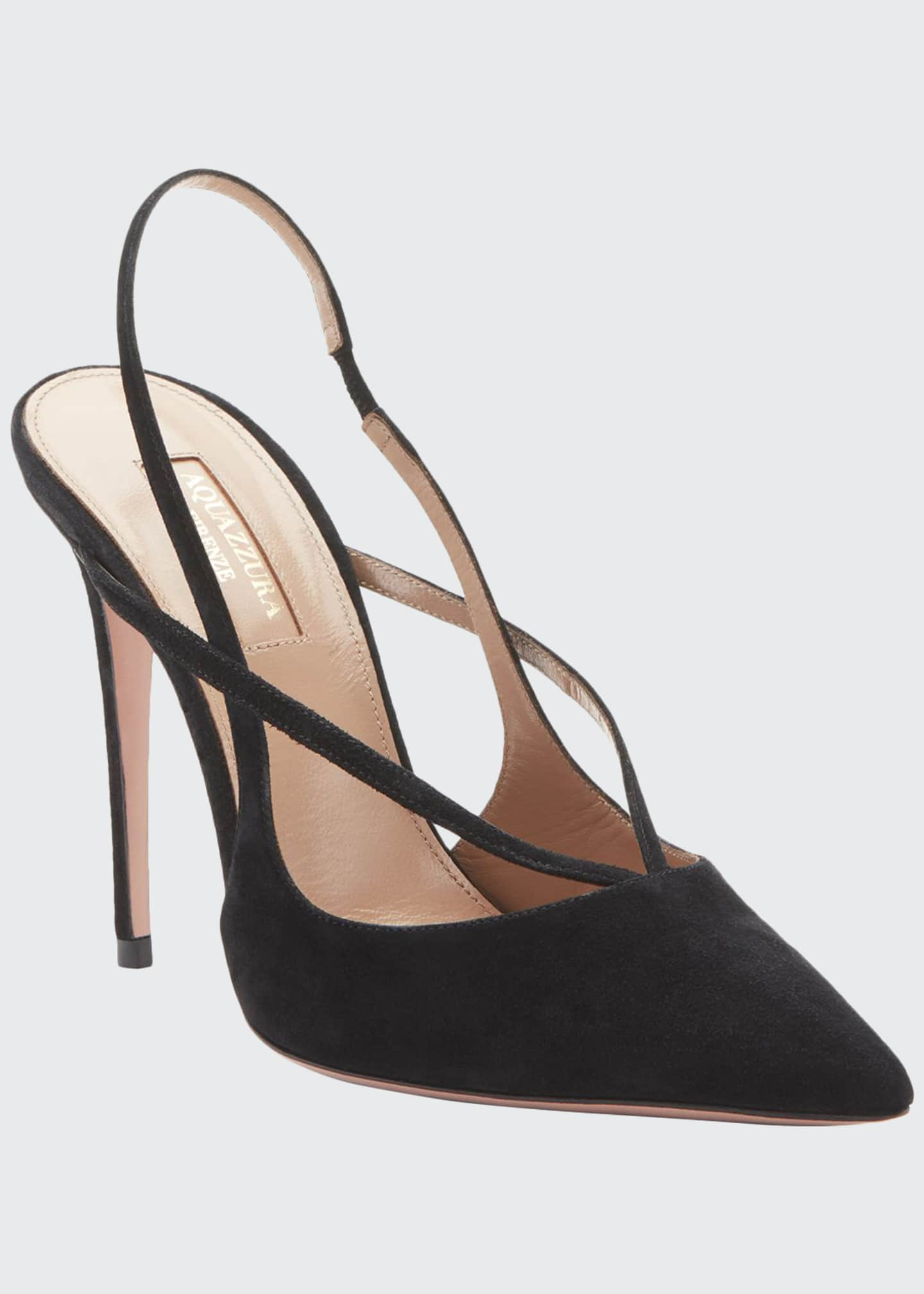 Image 1 of 2: Soul Suede Strappy Pumps