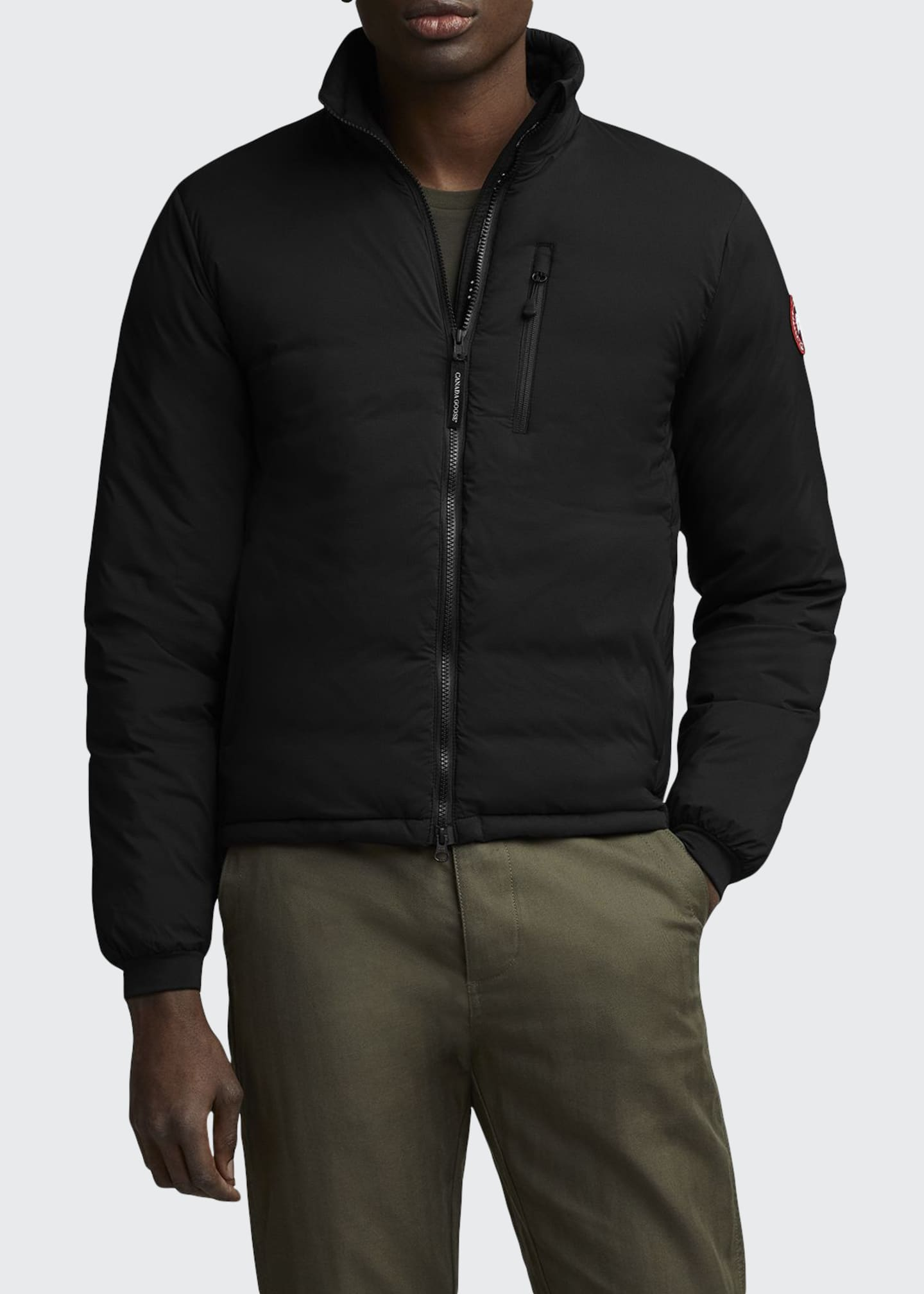 Canada Goose Men's Lodge Zip-Front Puffer Coat