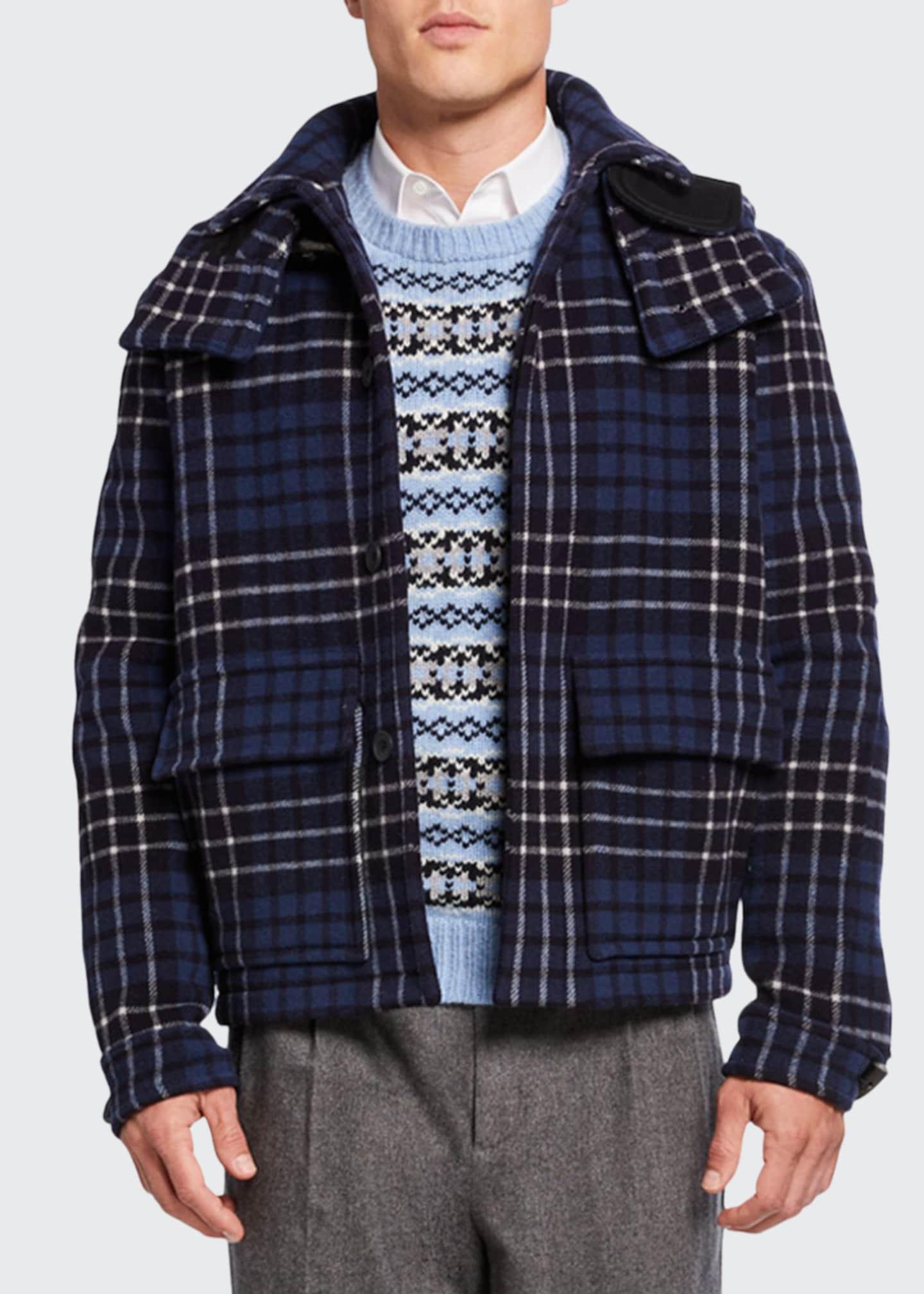 Lou Dalton Men's x Gloverall Wool Melton Utility