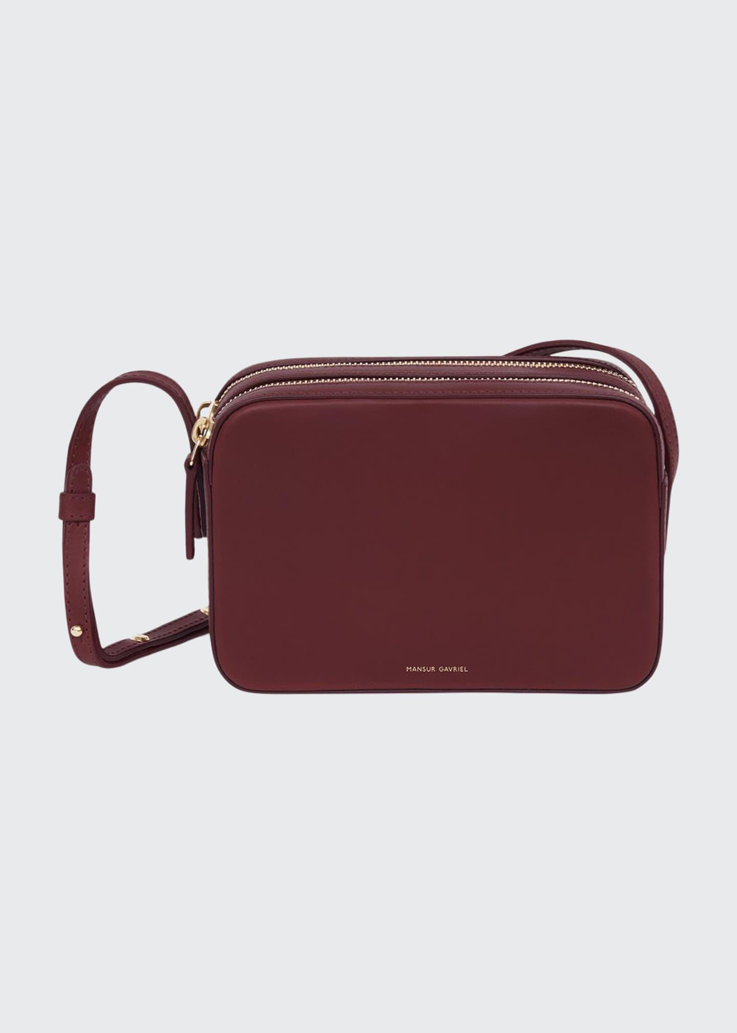 Mansur Gavriel Vegetable-Tanned Zip Crossbody Bag