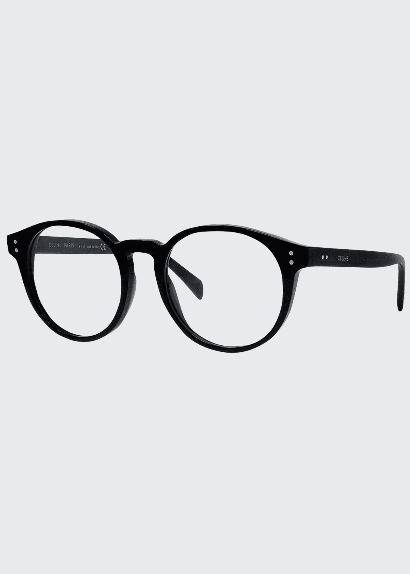 Celine Round Acetate Optical Frames