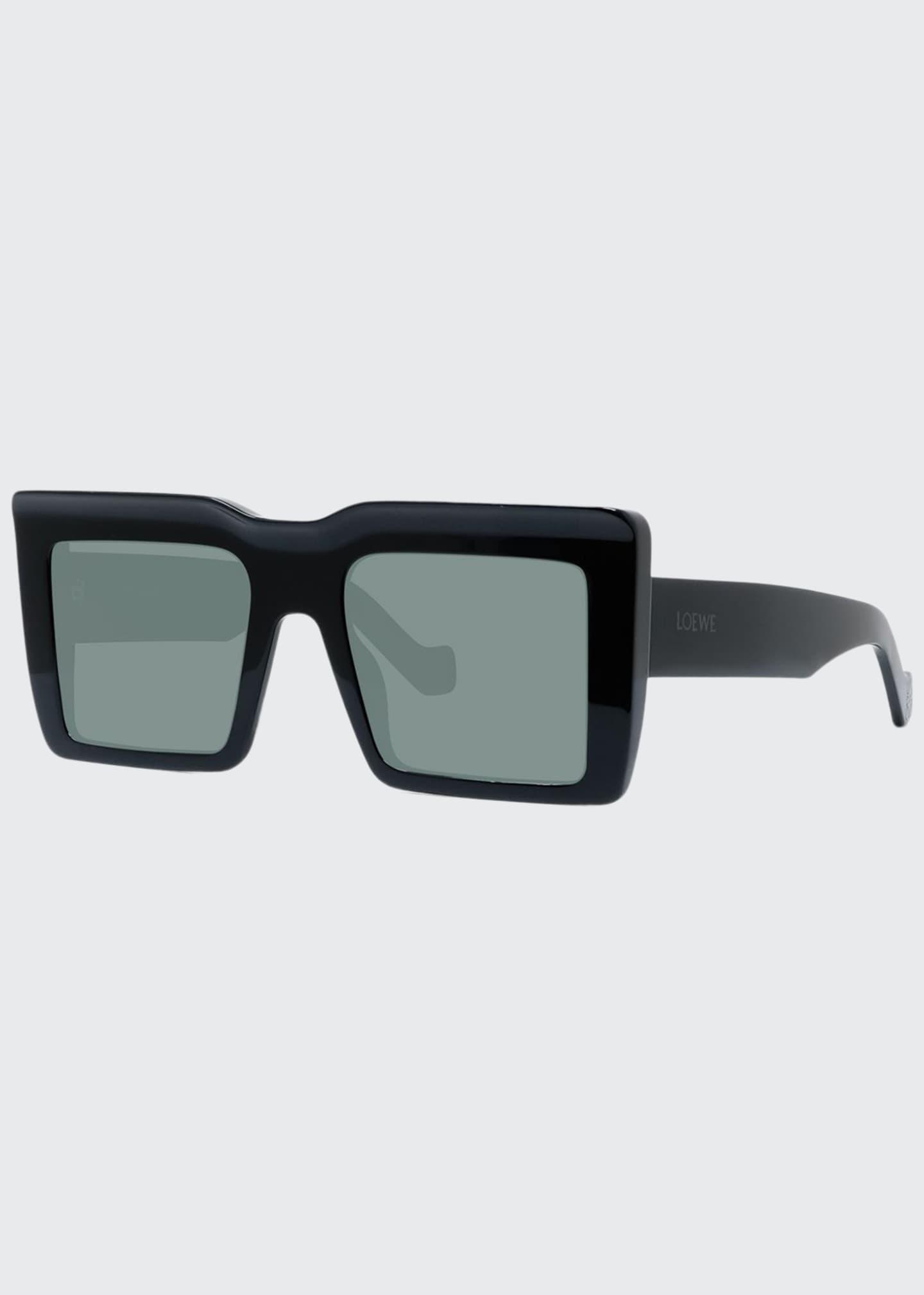 Loewe Monochromatic Square Acetate Sunglasses