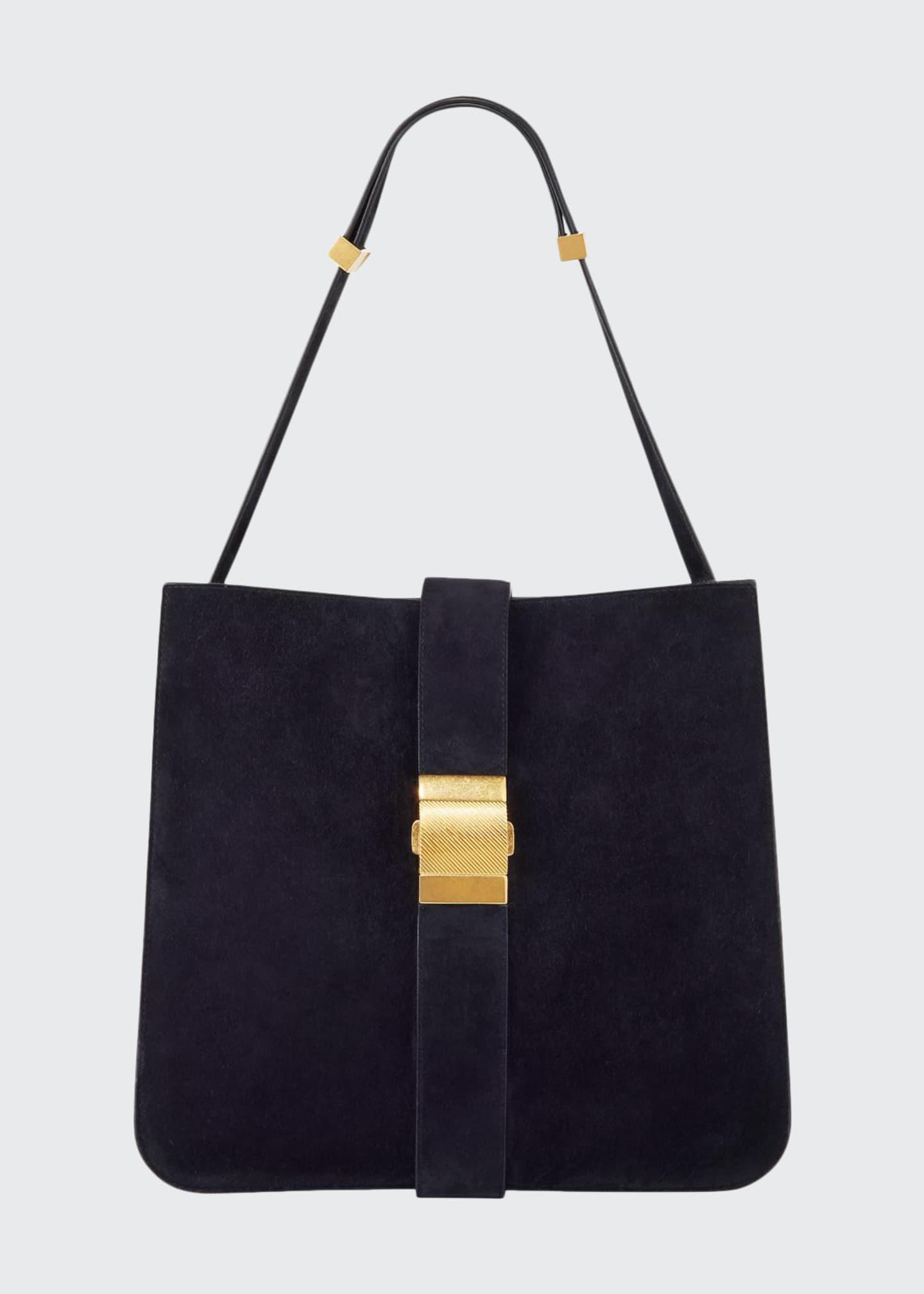 Bottega Veneta Marie Cachemere Suede Shoulder Bag