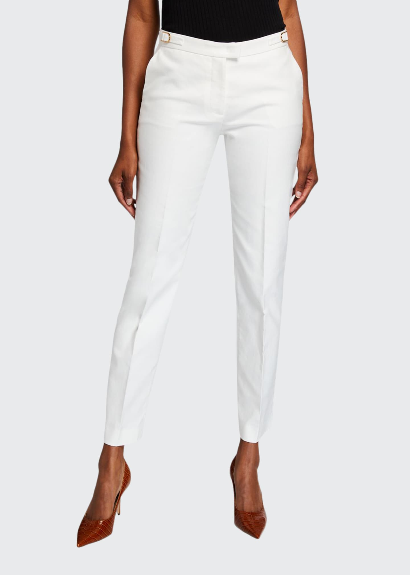 Gabriela Hearst Armon Slim-Leg Pants