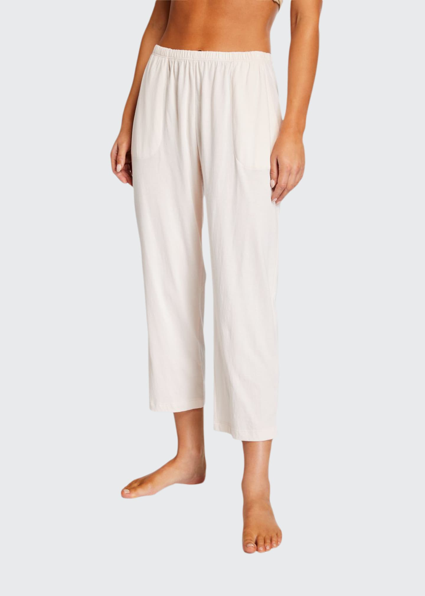 Image 1 of 3: Oaklie Jersey Crop Pants