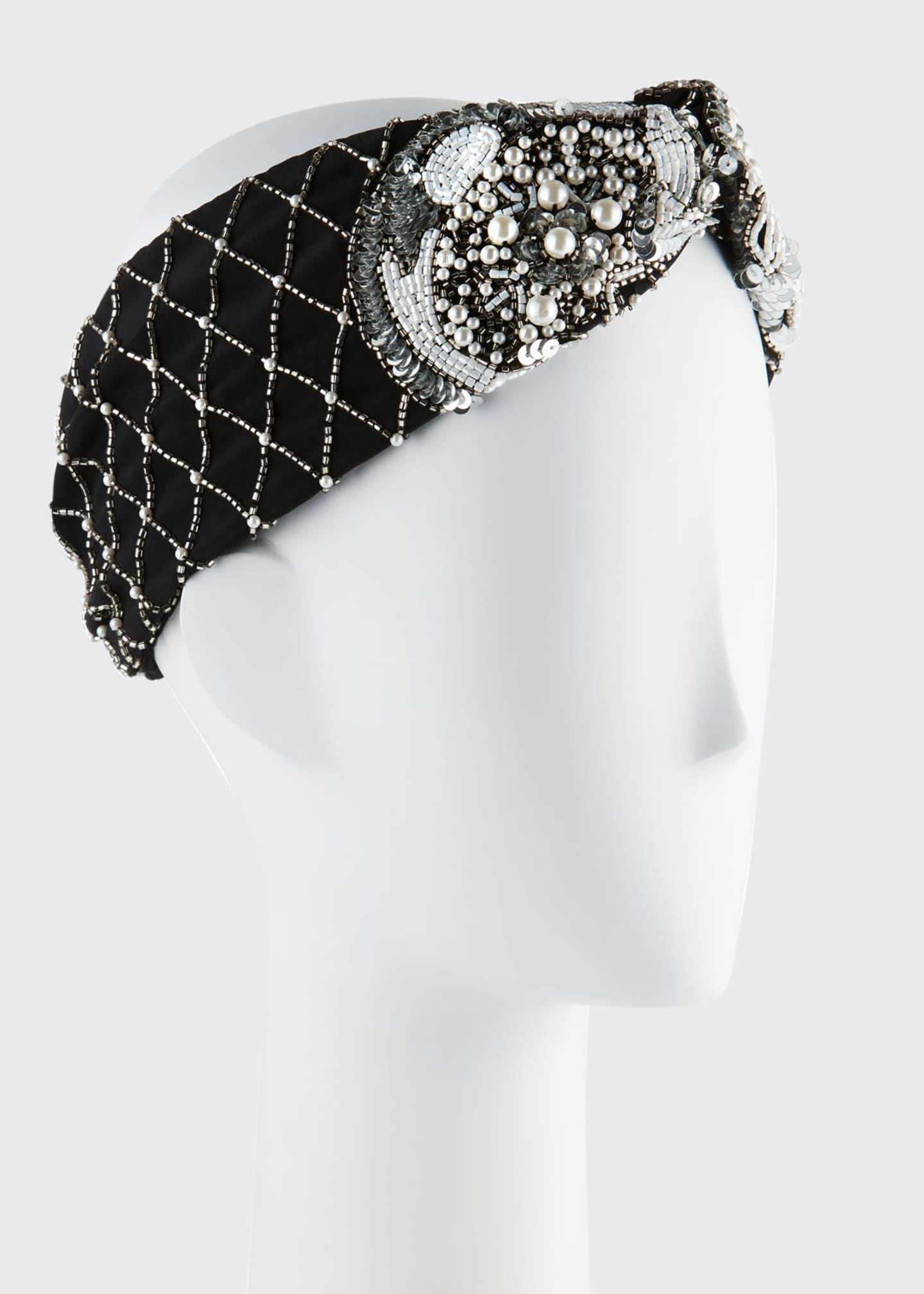 Mignonne Gavigan Le Charlot Beaded Turban Headband