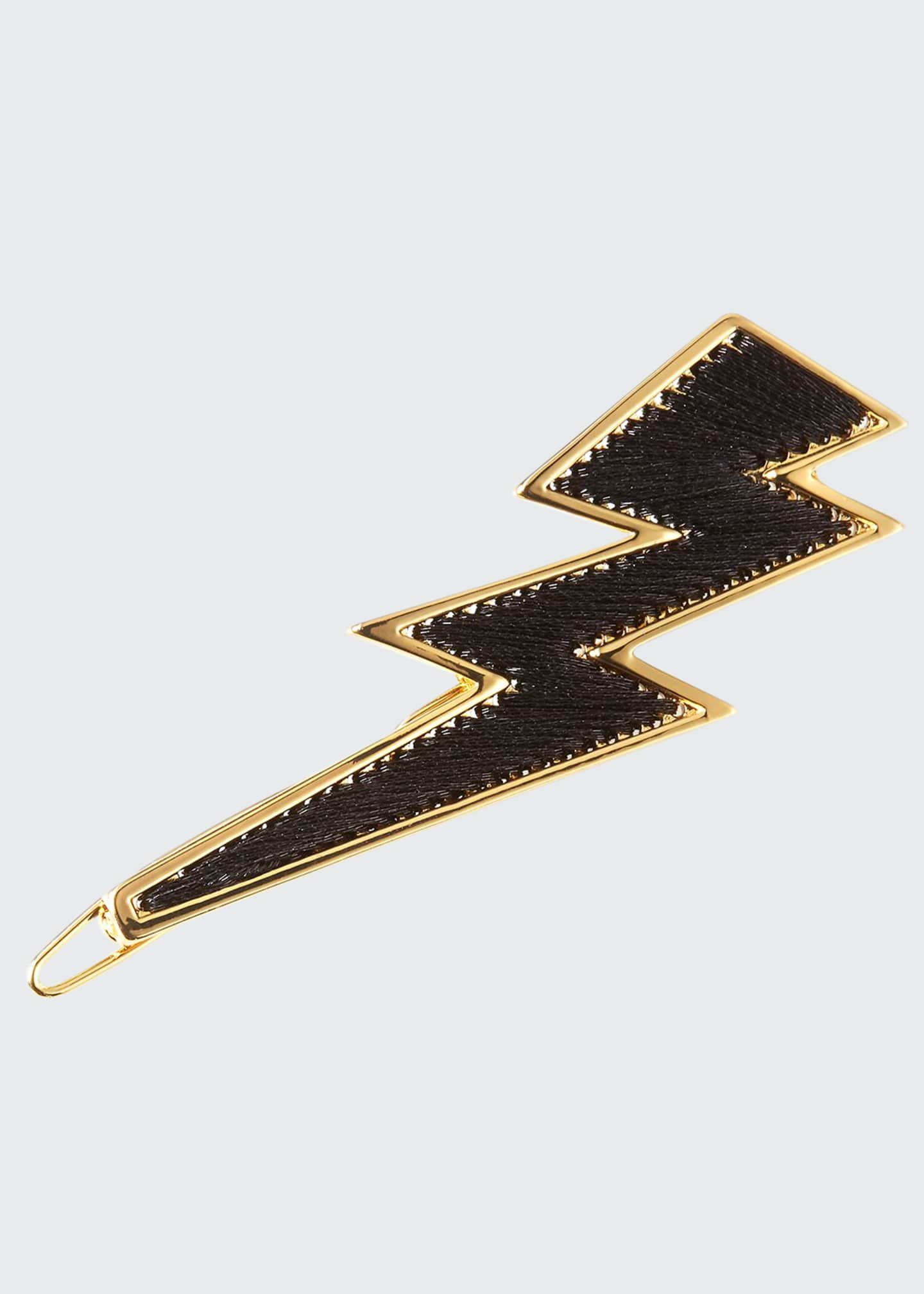 Mignonne Gavigan 14K Gold Threaded Lightning Bolt Hair