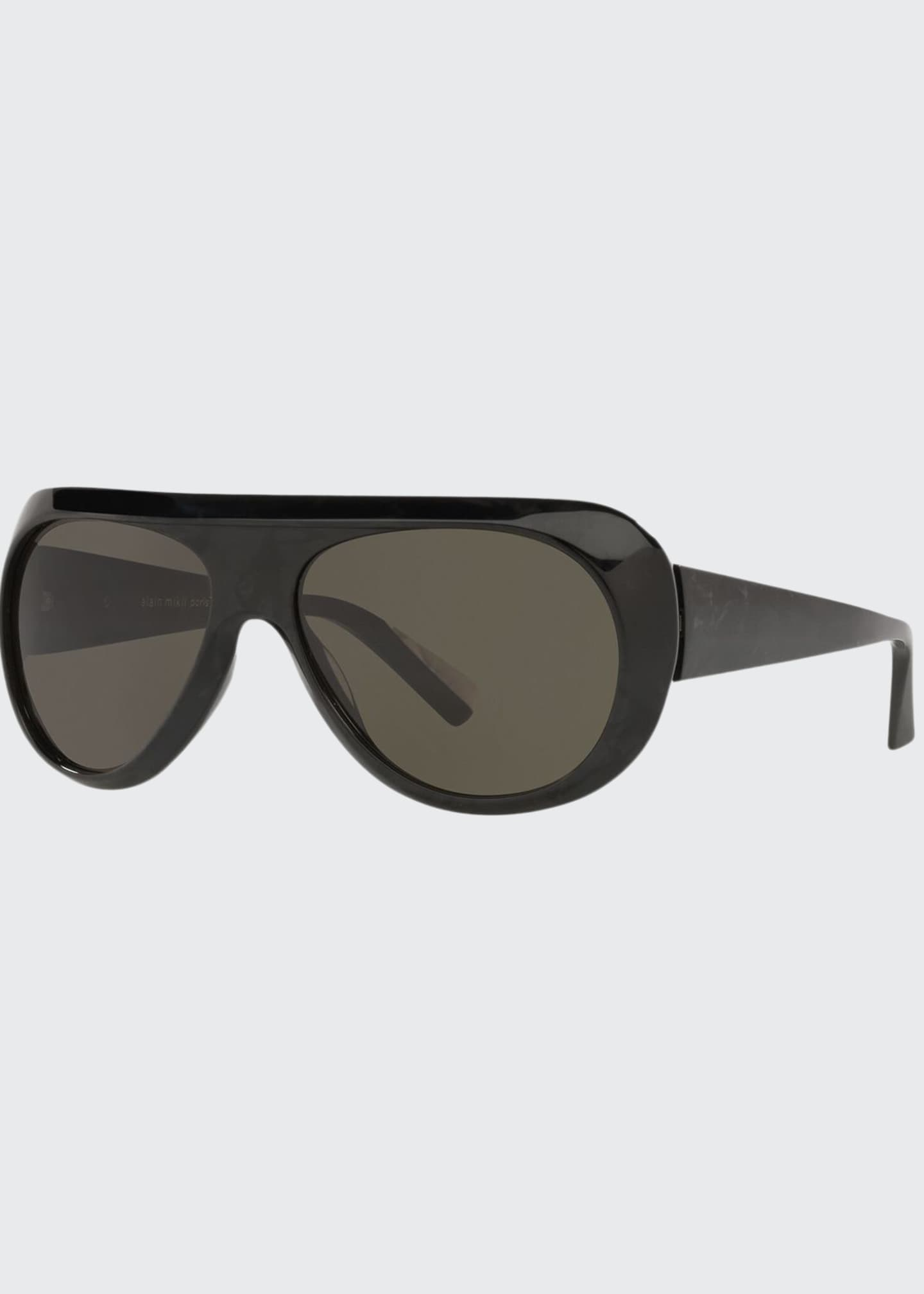 Alain Mikli Marmion Acetate Aviator Sunglasses