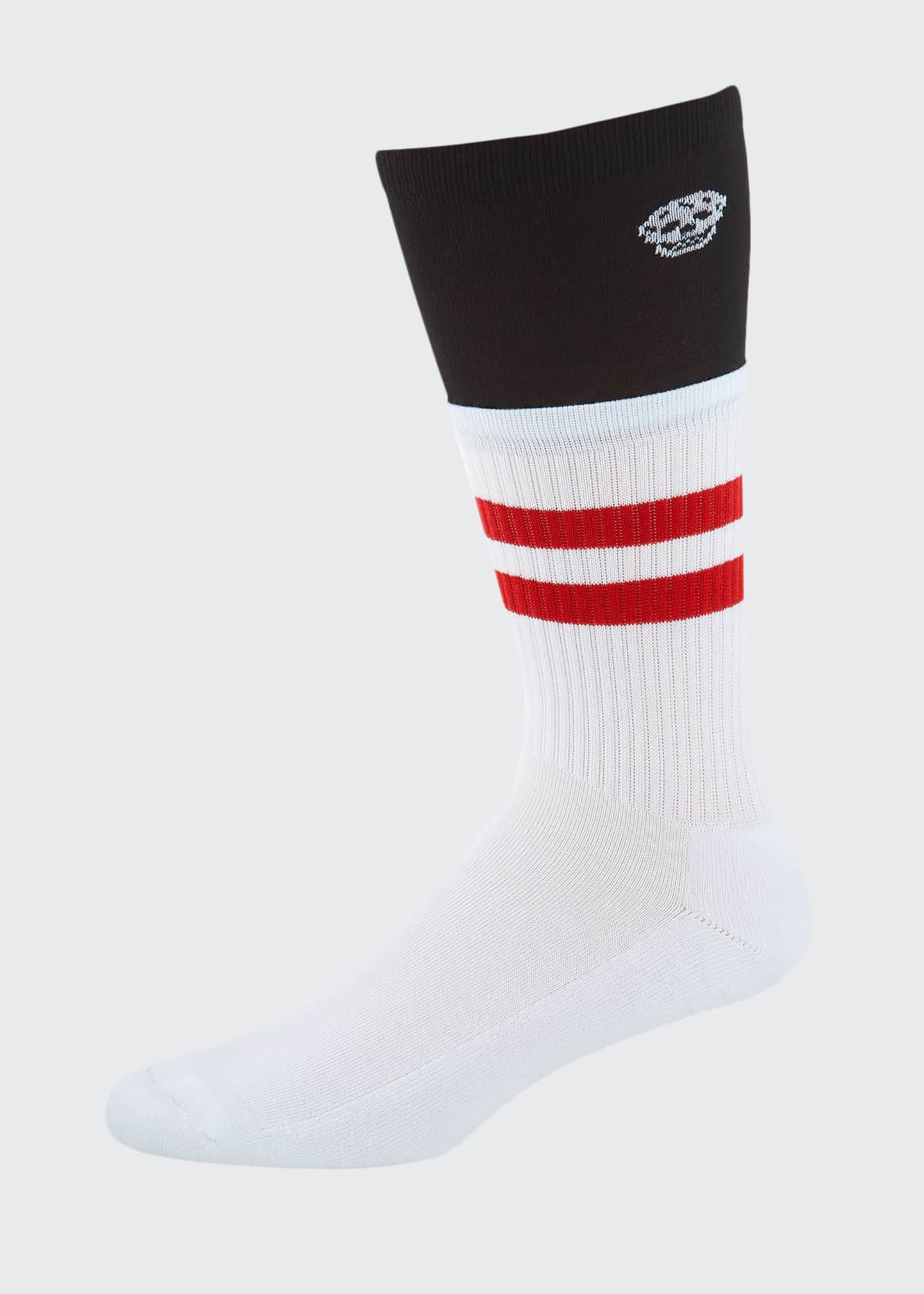 Alexander McQueen Men's Trompe l'Oeil Socks