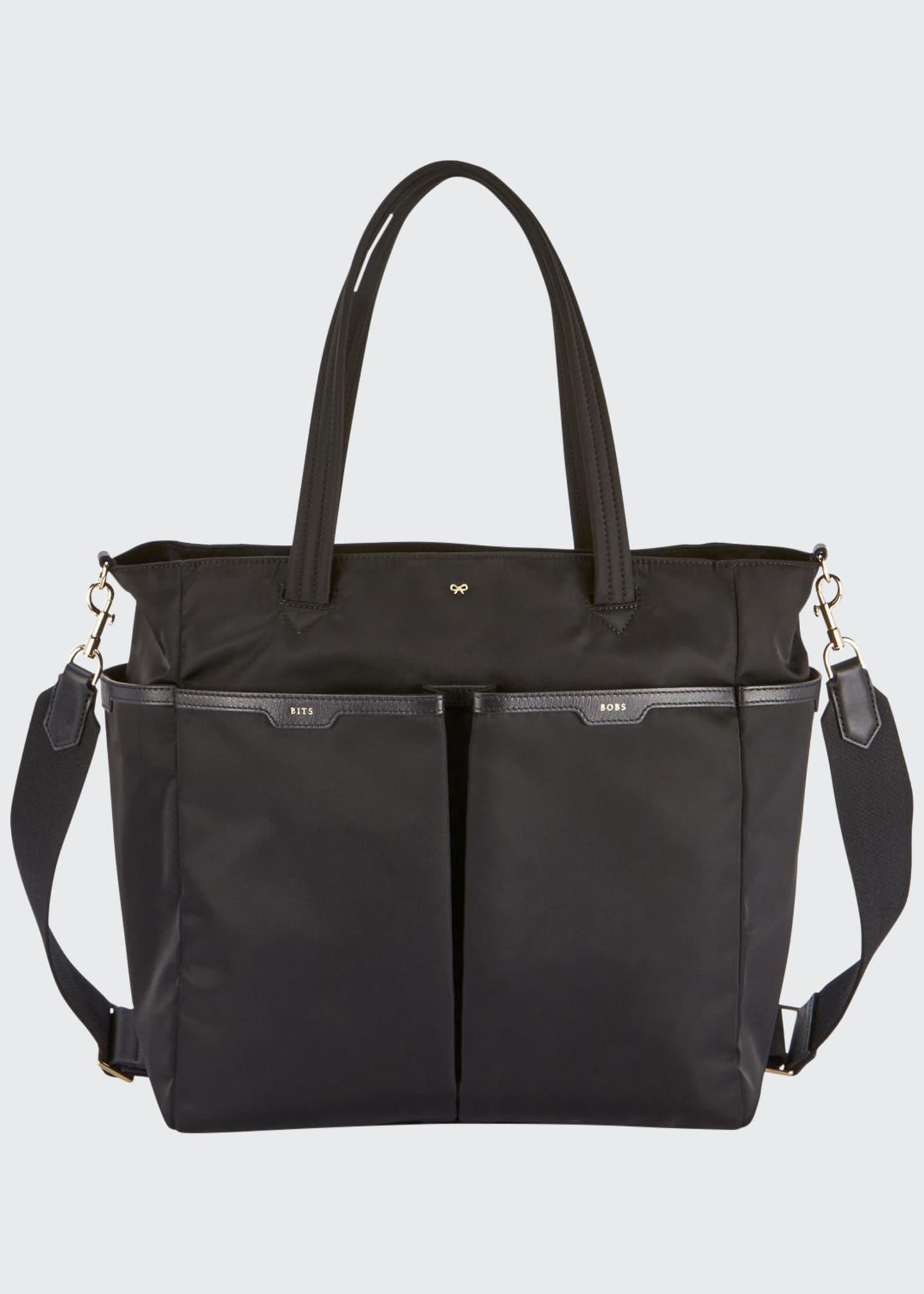 Anya Hindmarch Nylon Baby Diaper Bag