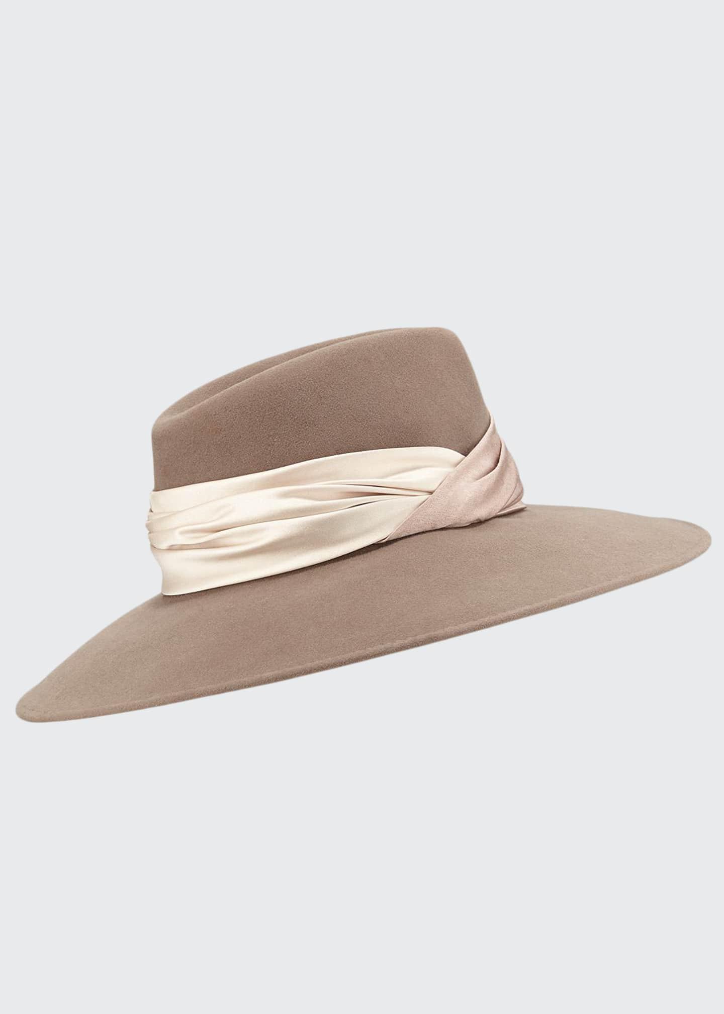 Eugenia Kim Emmanuelle Wool Fedora Hat
