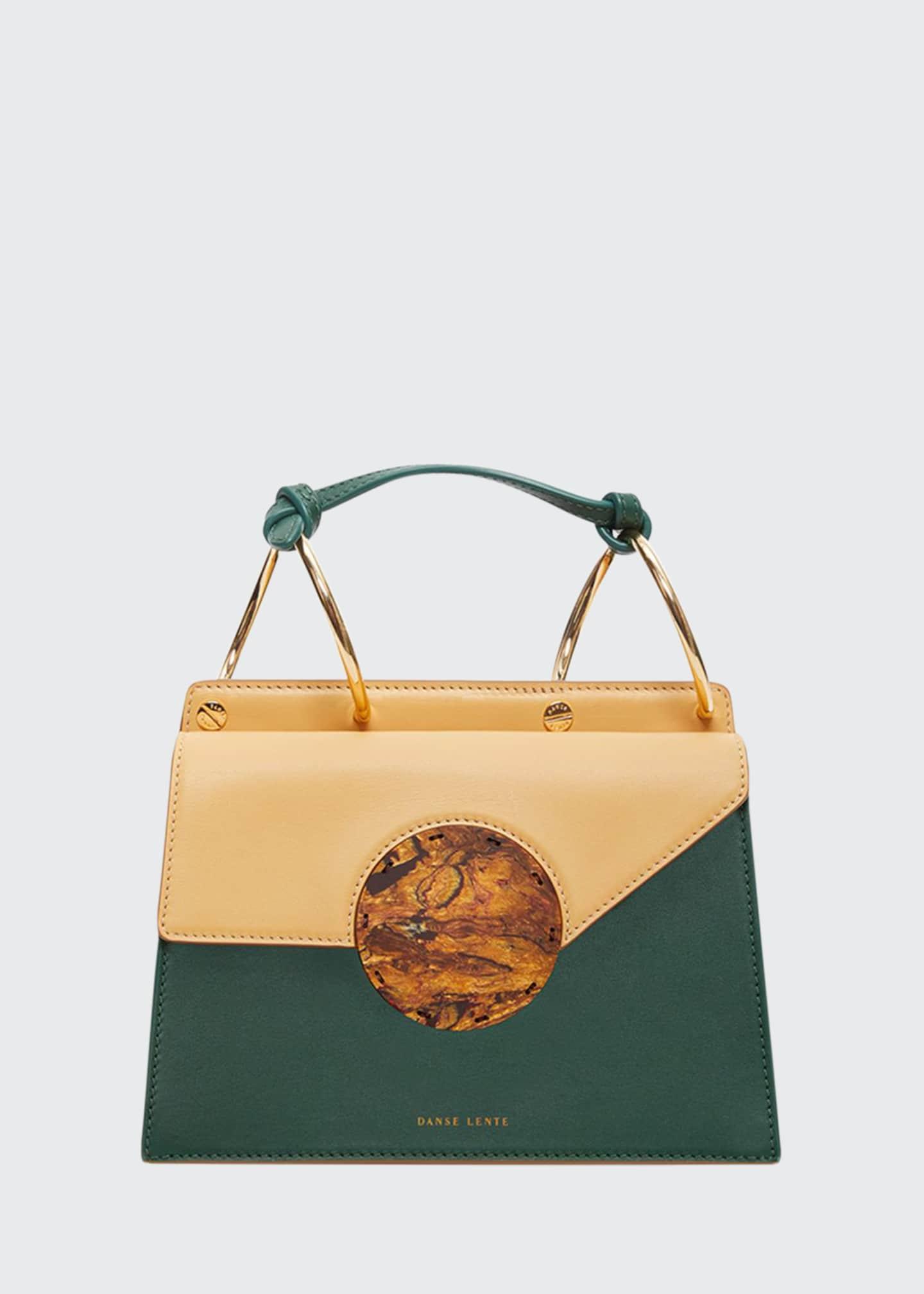 Danse Lente Phoebe Bis Leather Top-Handle Bag