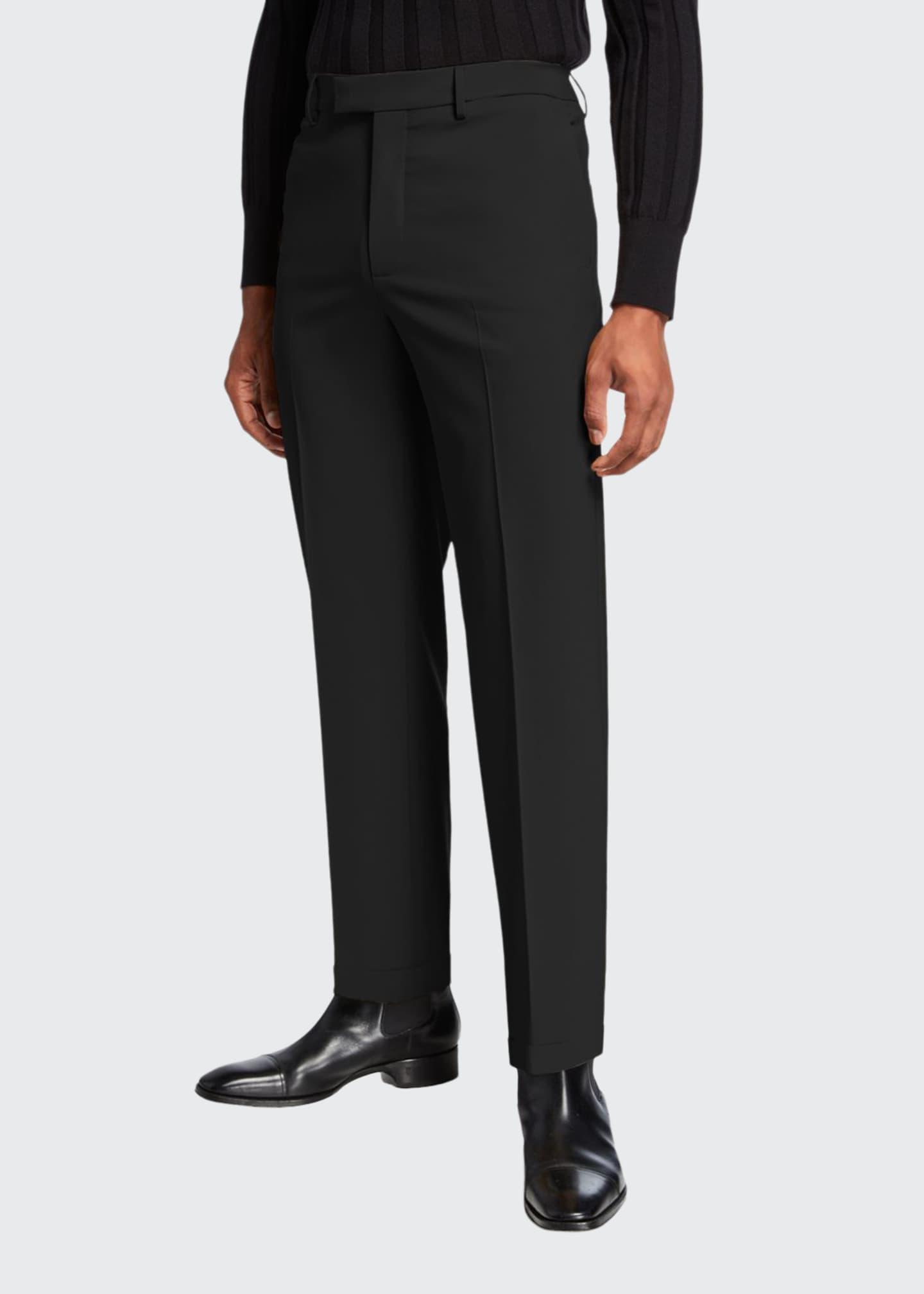 Bottega Veneta Men's Mohair-Blend Slim-Fit Dress Pants