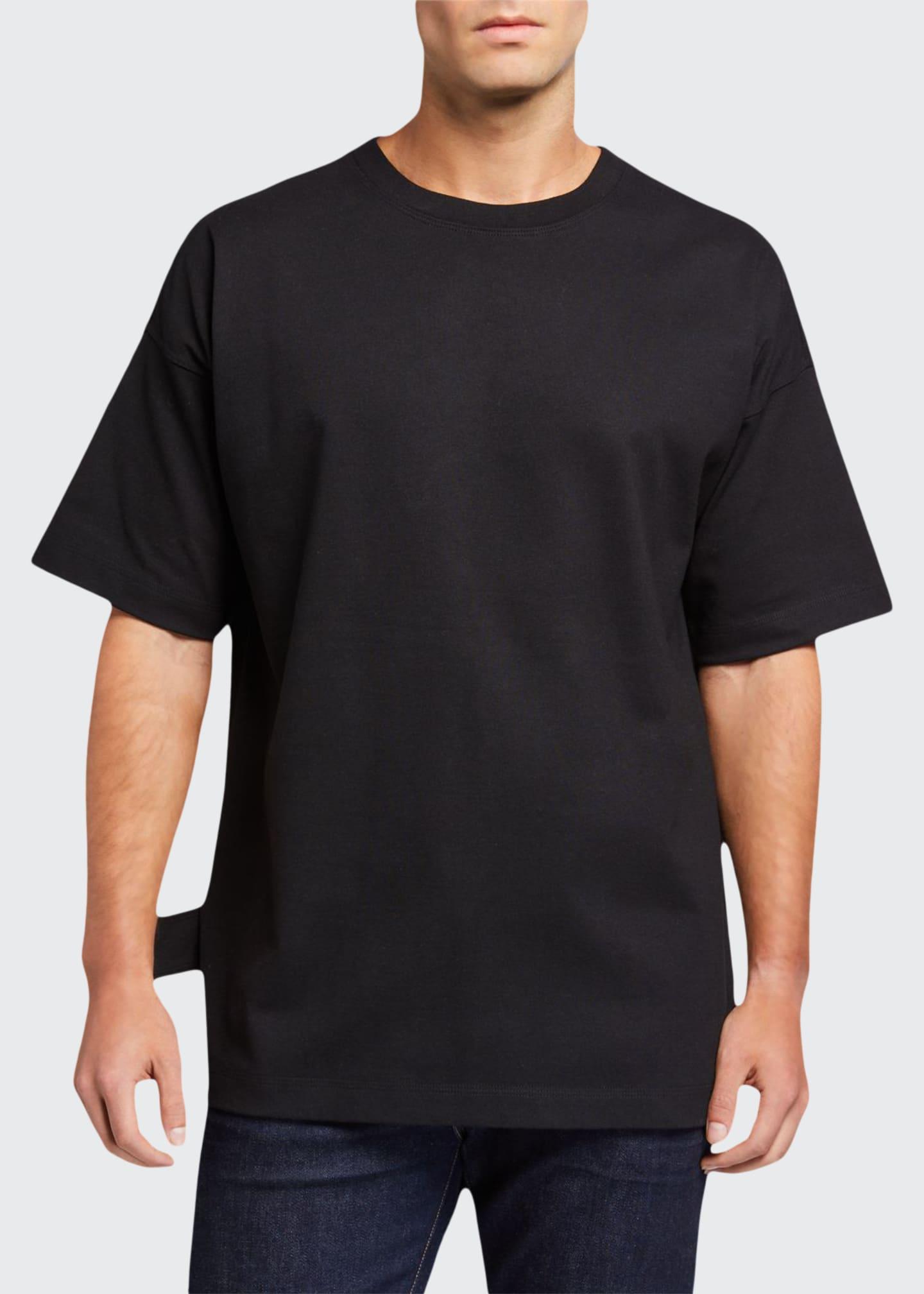 Bottega Veneta Men's Heavyweight Dropped-Shoulder T-Shirt