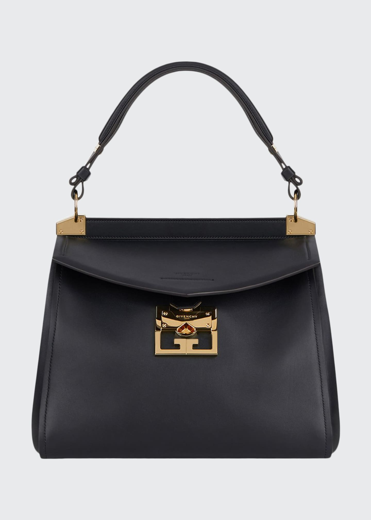 Givenchy Mystic Medium Calfskin Top-Handle Bag