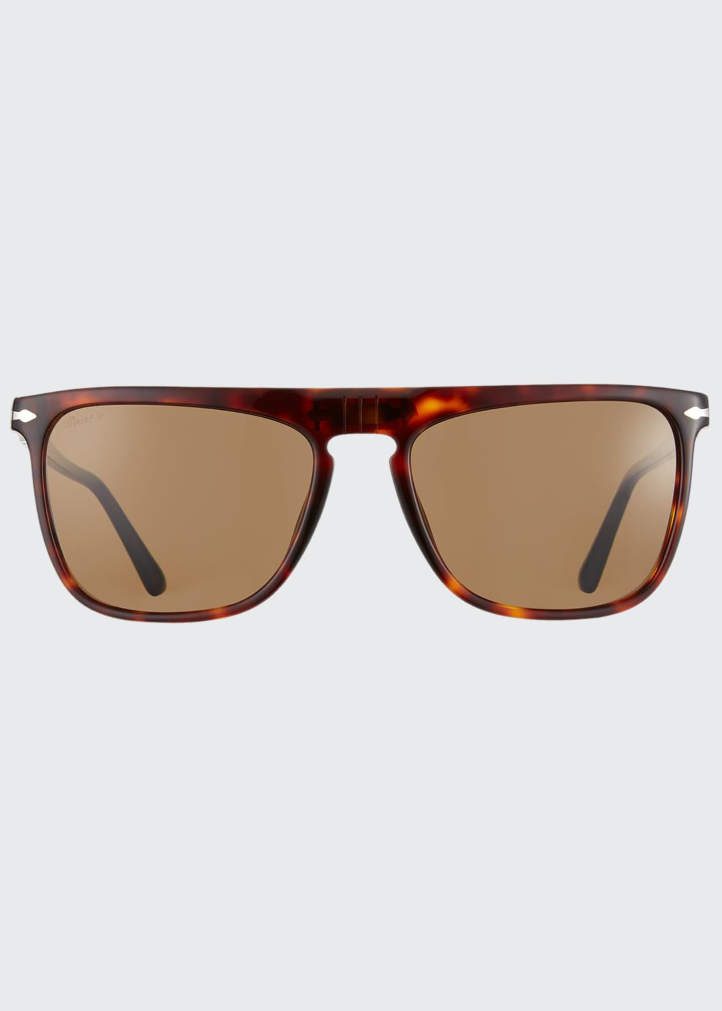 Men's Patterned Rectangle Sunglasses