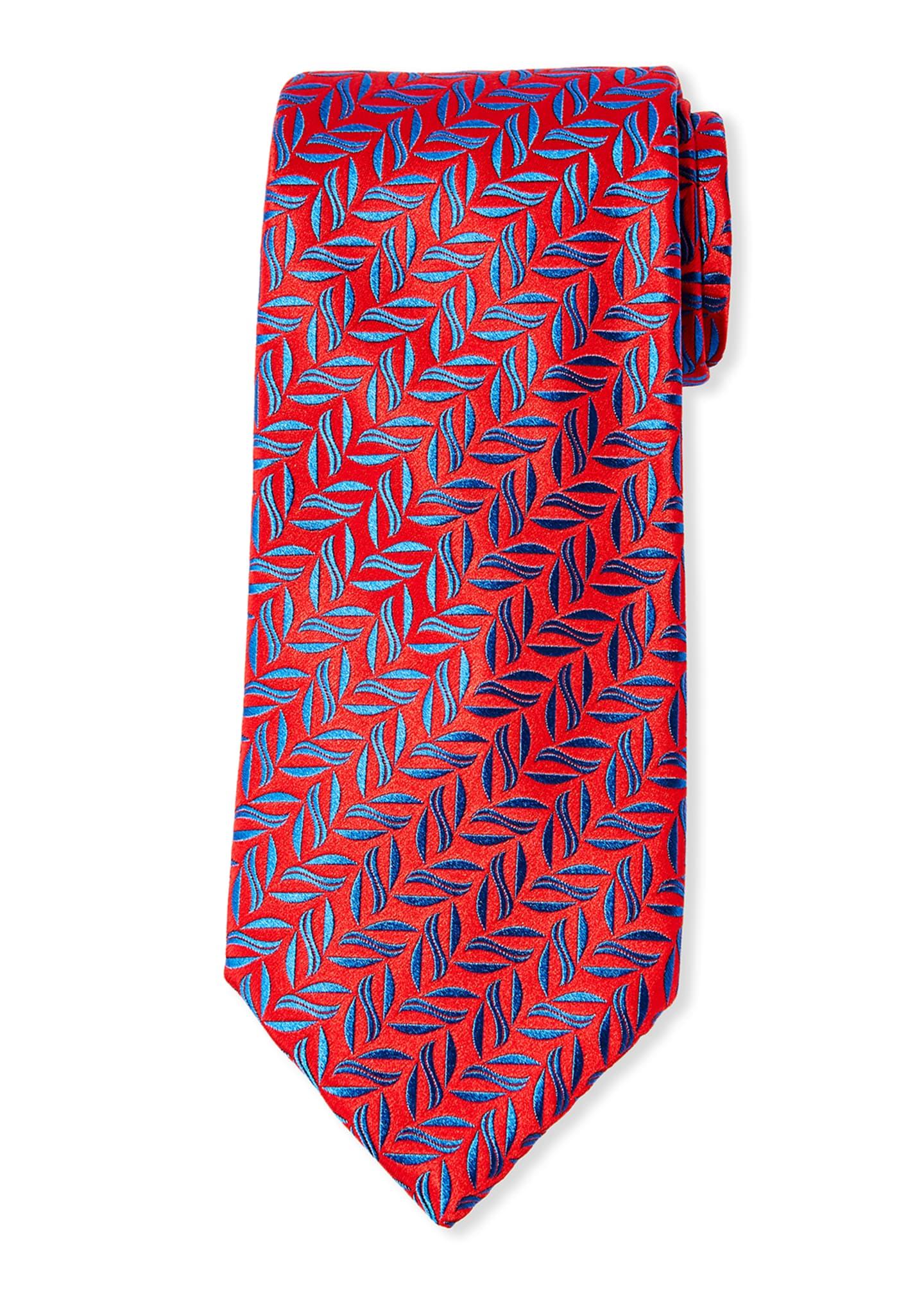 Charvet Aztec Codex Silk Tie