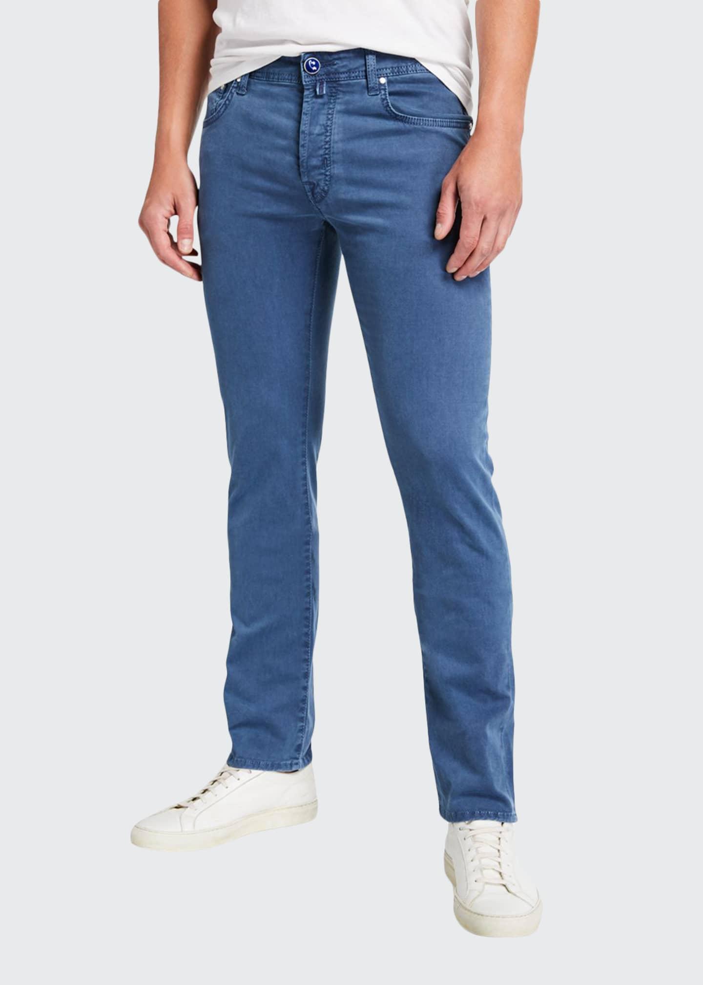 Jacob Cohen Men's Brushed 5-Pocket Jeans
