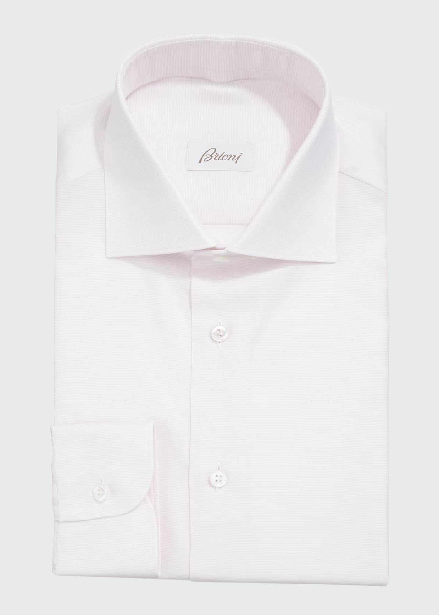 Brioni Men's Ottoman Dress Shirt