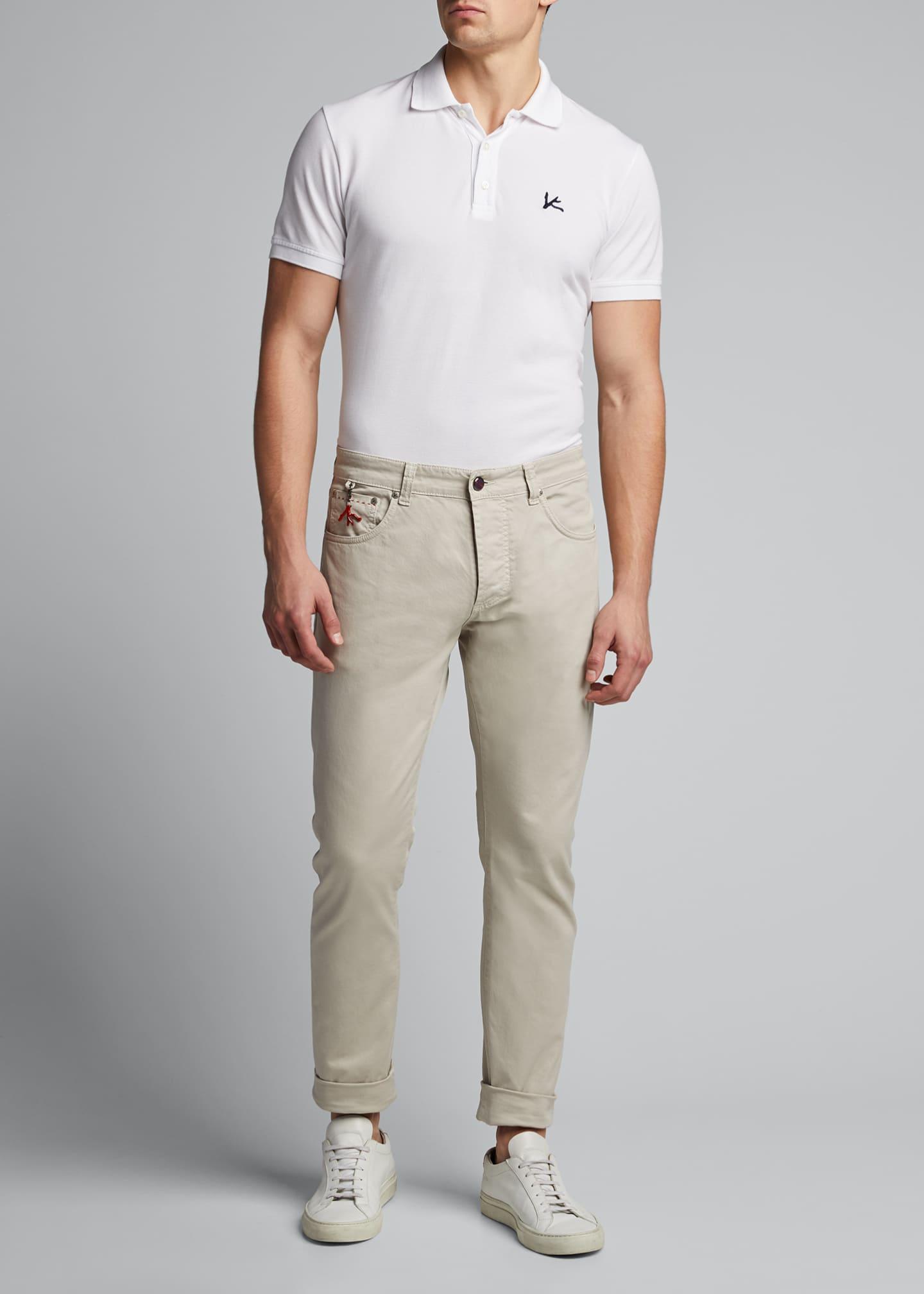 Isaia Men's Stretch-Denim Jeans