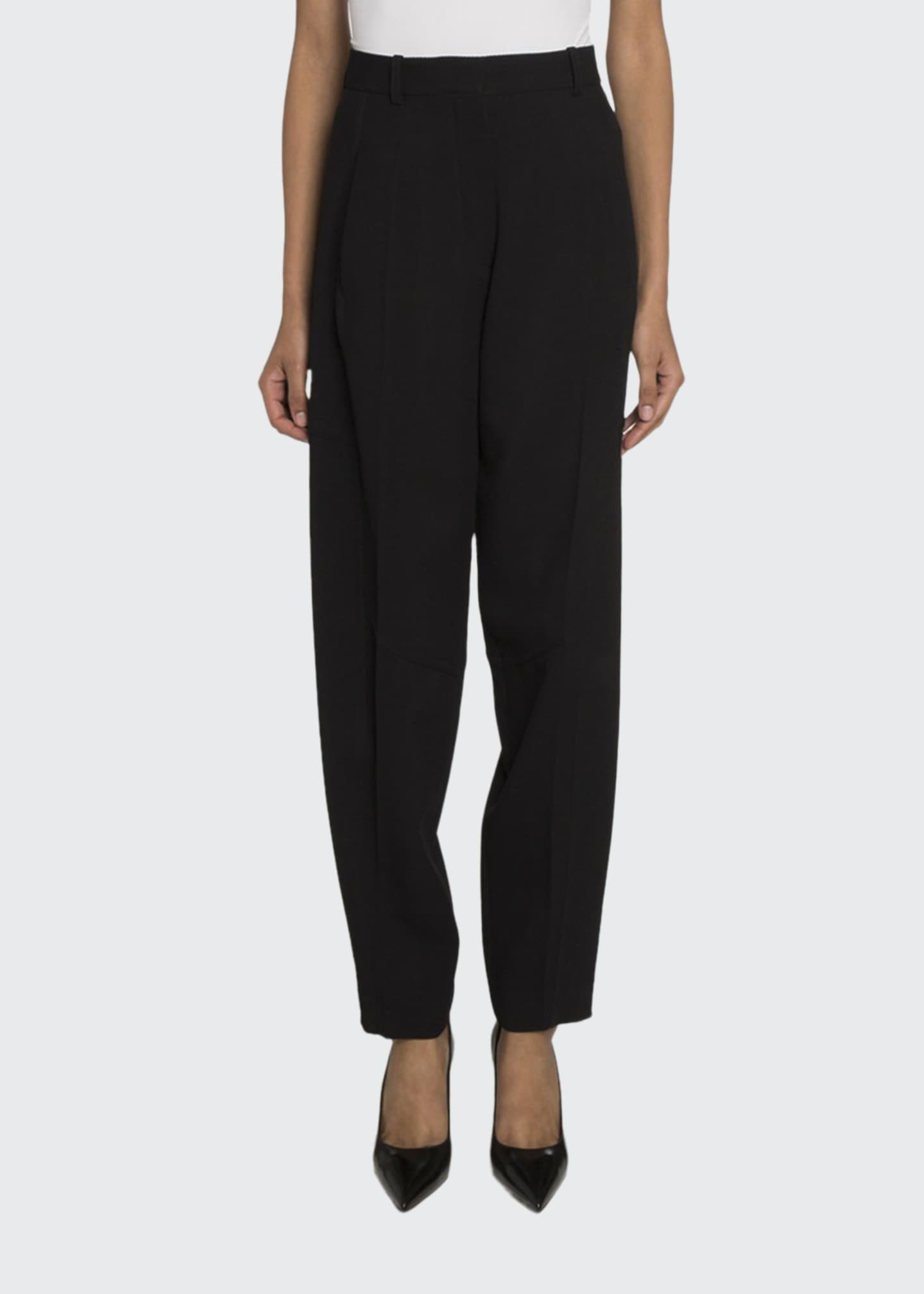 Image 1 of 2: High-Waist Paneled Trousers