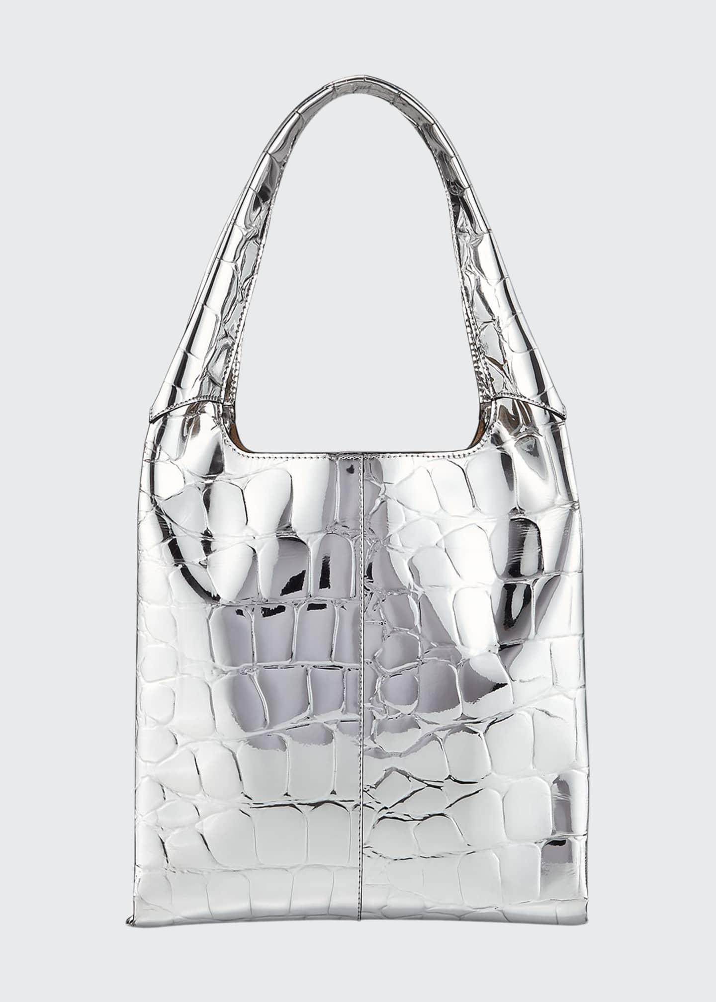 Hayward 1712 Embossed Faux-Leather Basket Bag