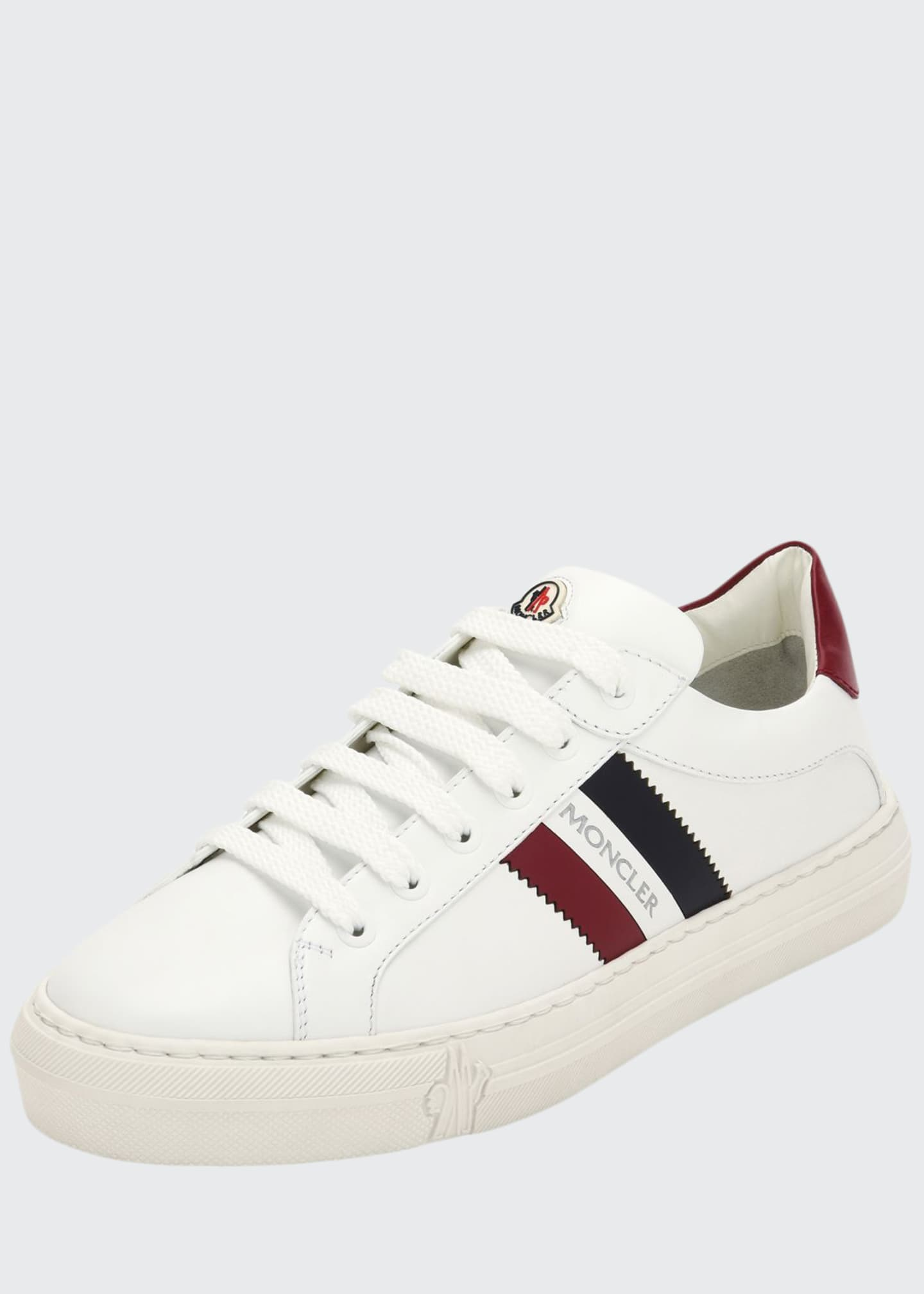 Image 1 of 3: Ariel Scarpa Leather Sneakers