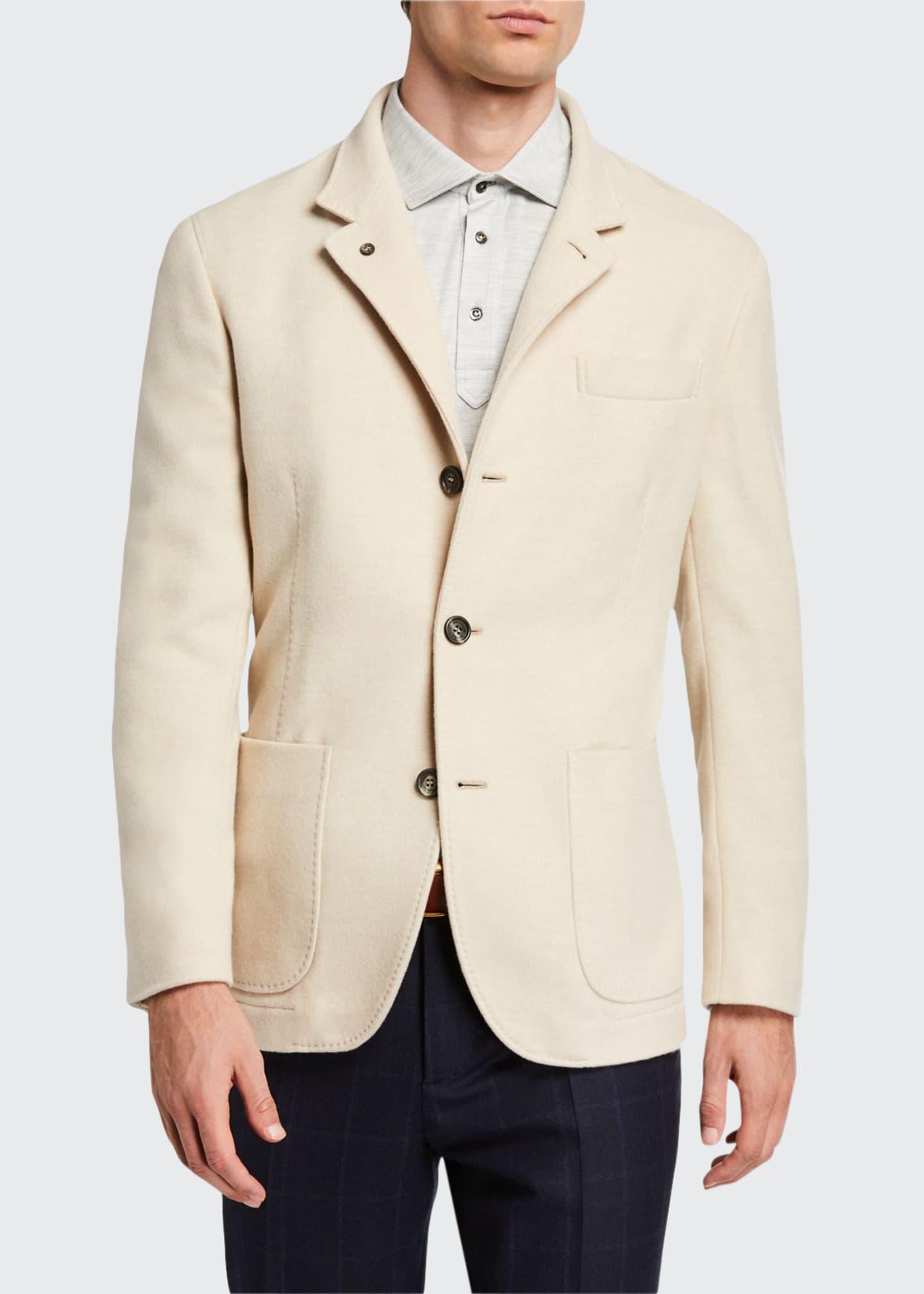 Brunello Cucinelli Men's Cashmere Blazer