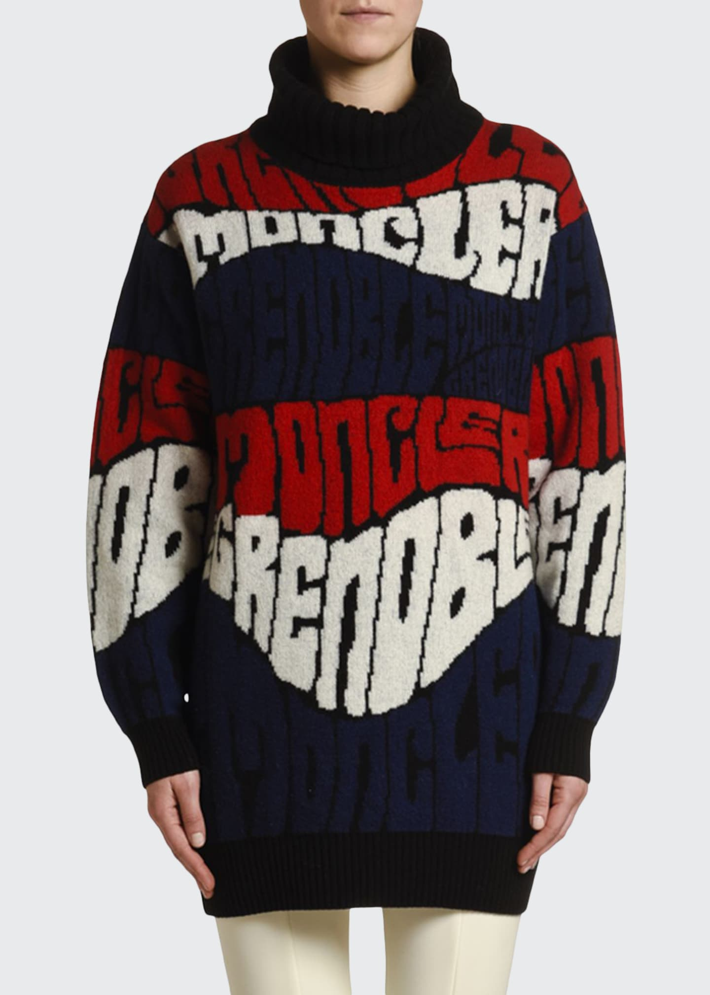 Moncler Ciclista Logo-Text Sweater