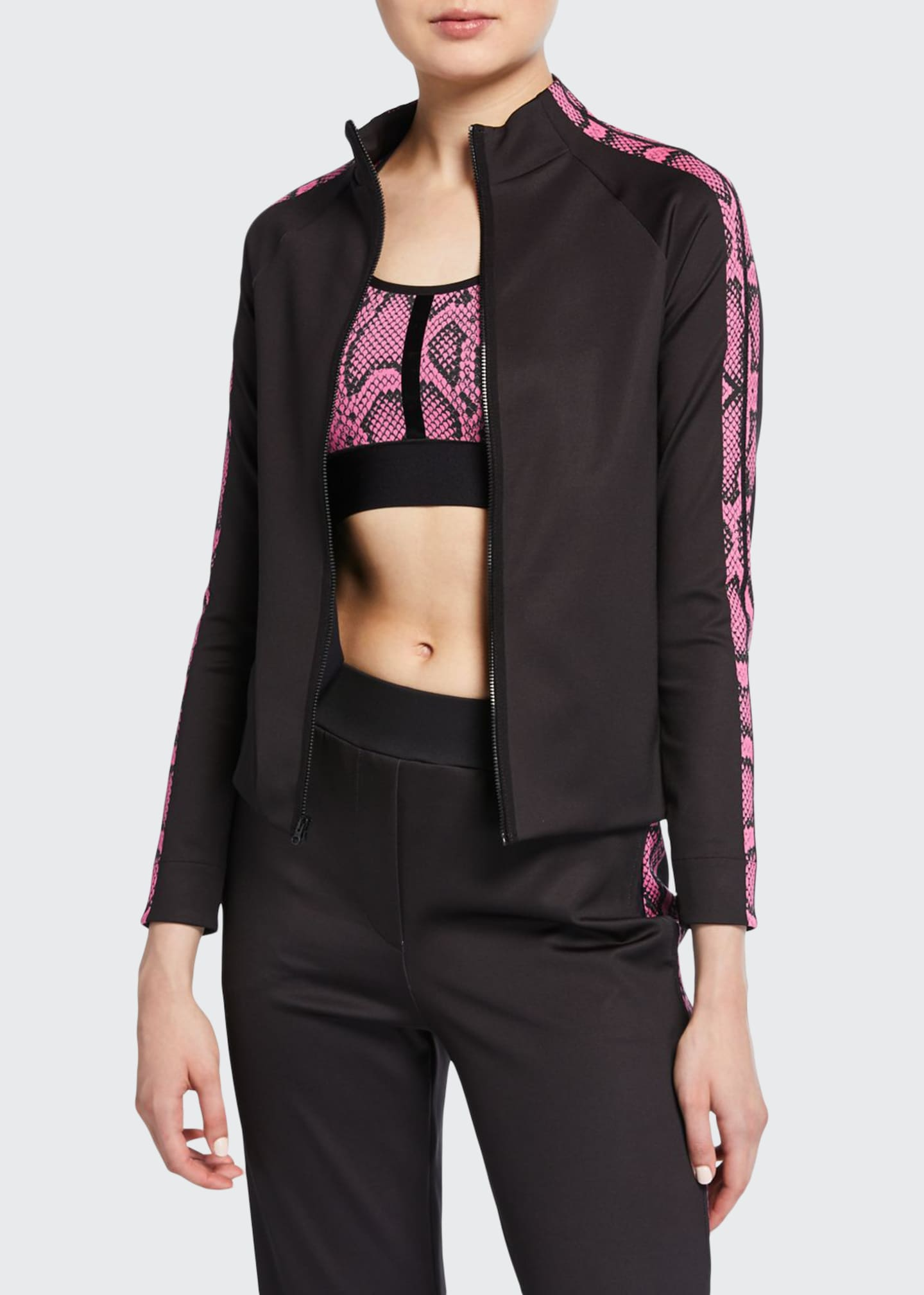 Image 1 of 3: Bionic Linear Python Track Jacket