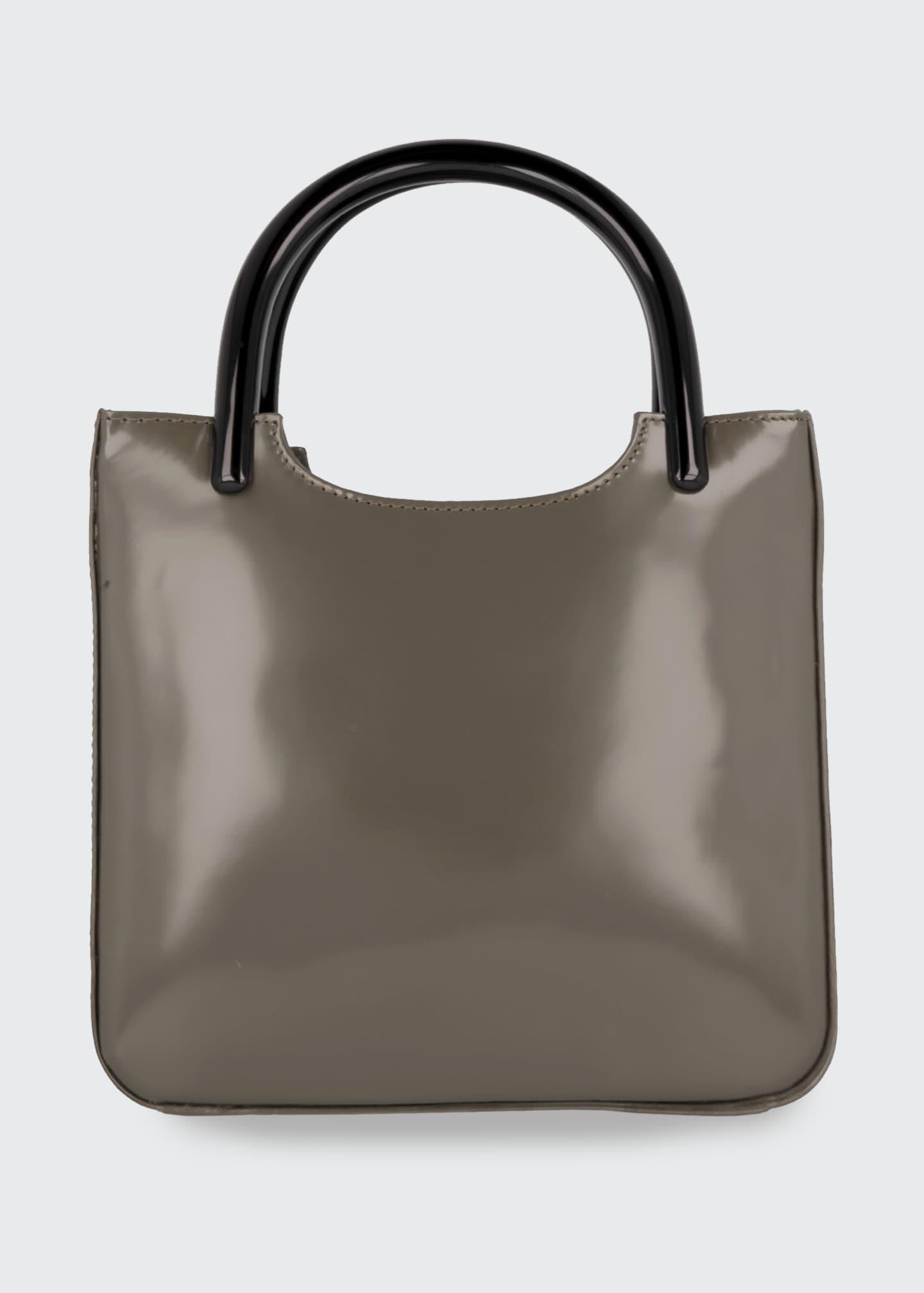 BY FAR Eric Semi-Patent Tote Bag