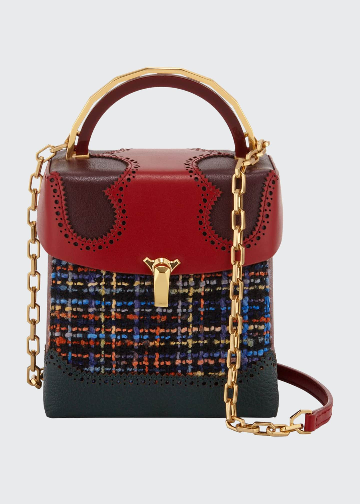 The Volon Alice Tweed Great Shoulder Bag
