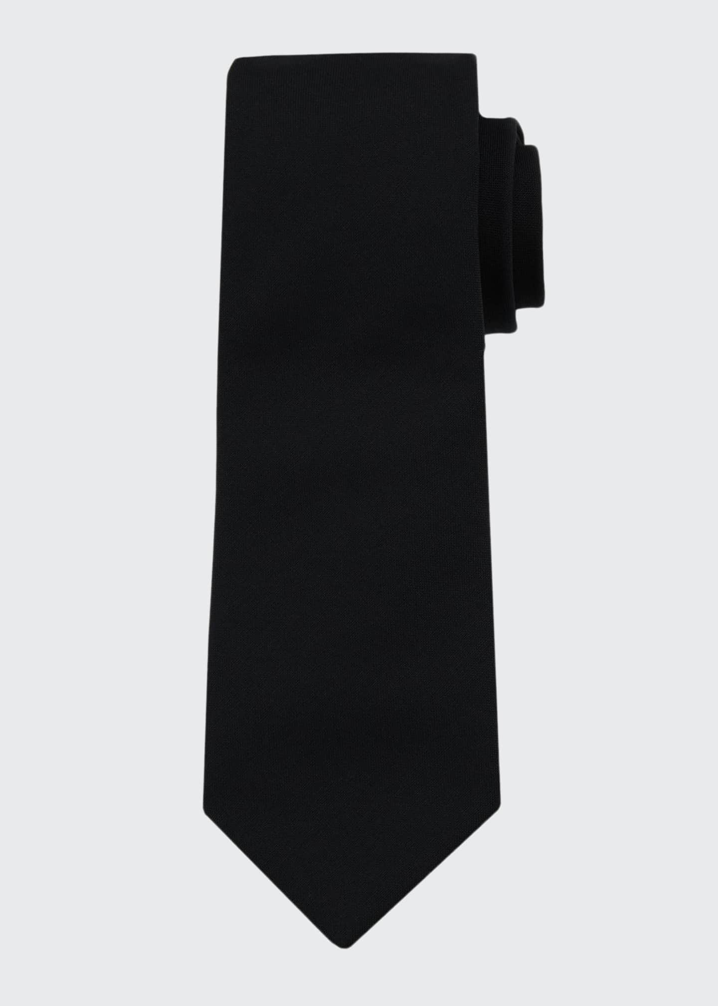 Image 1 of 1: Solid Wool Tie