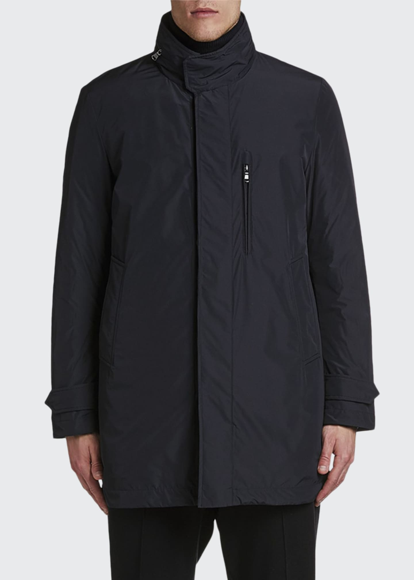 Image 1 of 2: Men's Daumeray Snap-Front Utility Jacket