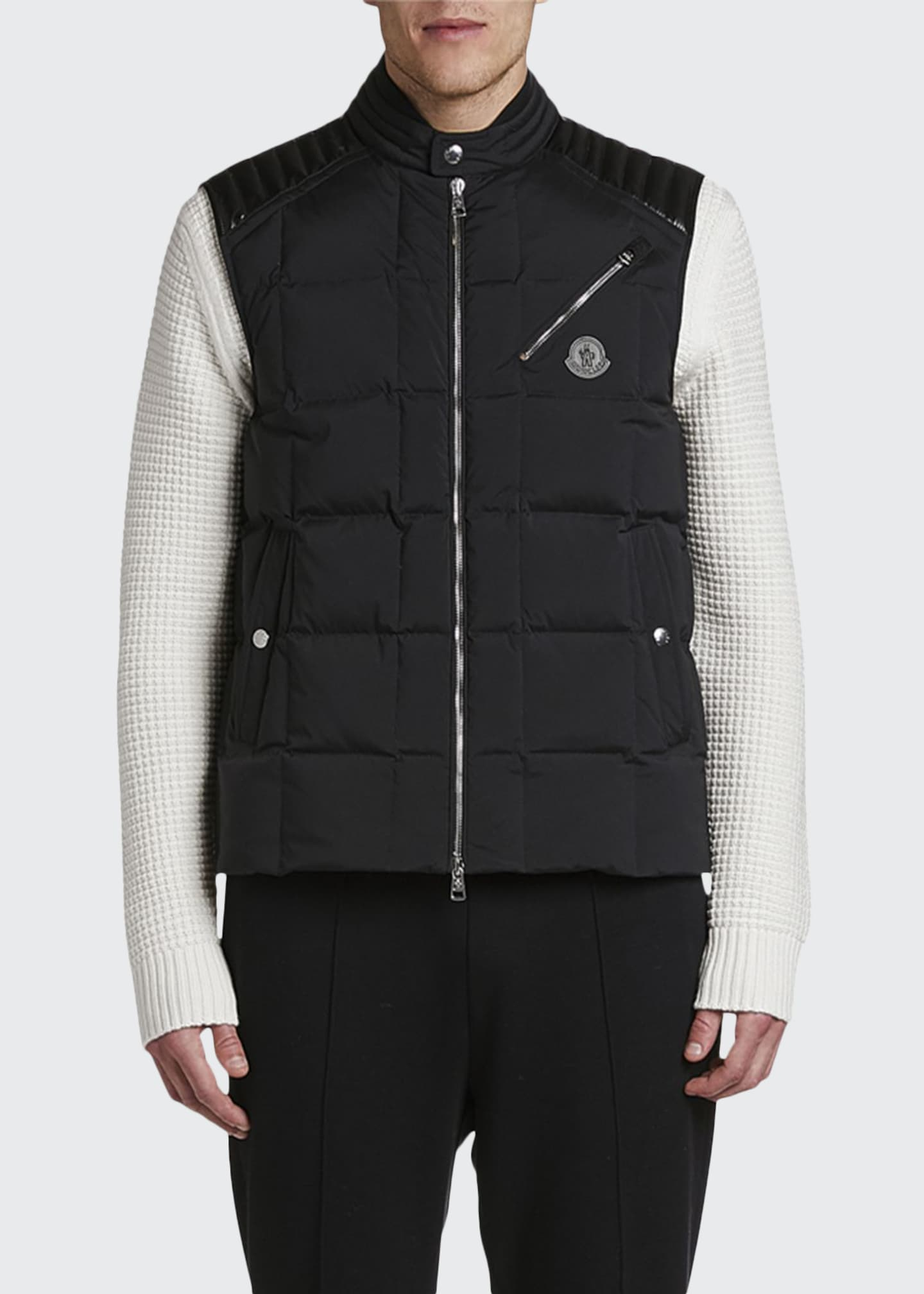 Image 1 of 2: Men's Holsteiner Zip-Front Quilted Vest