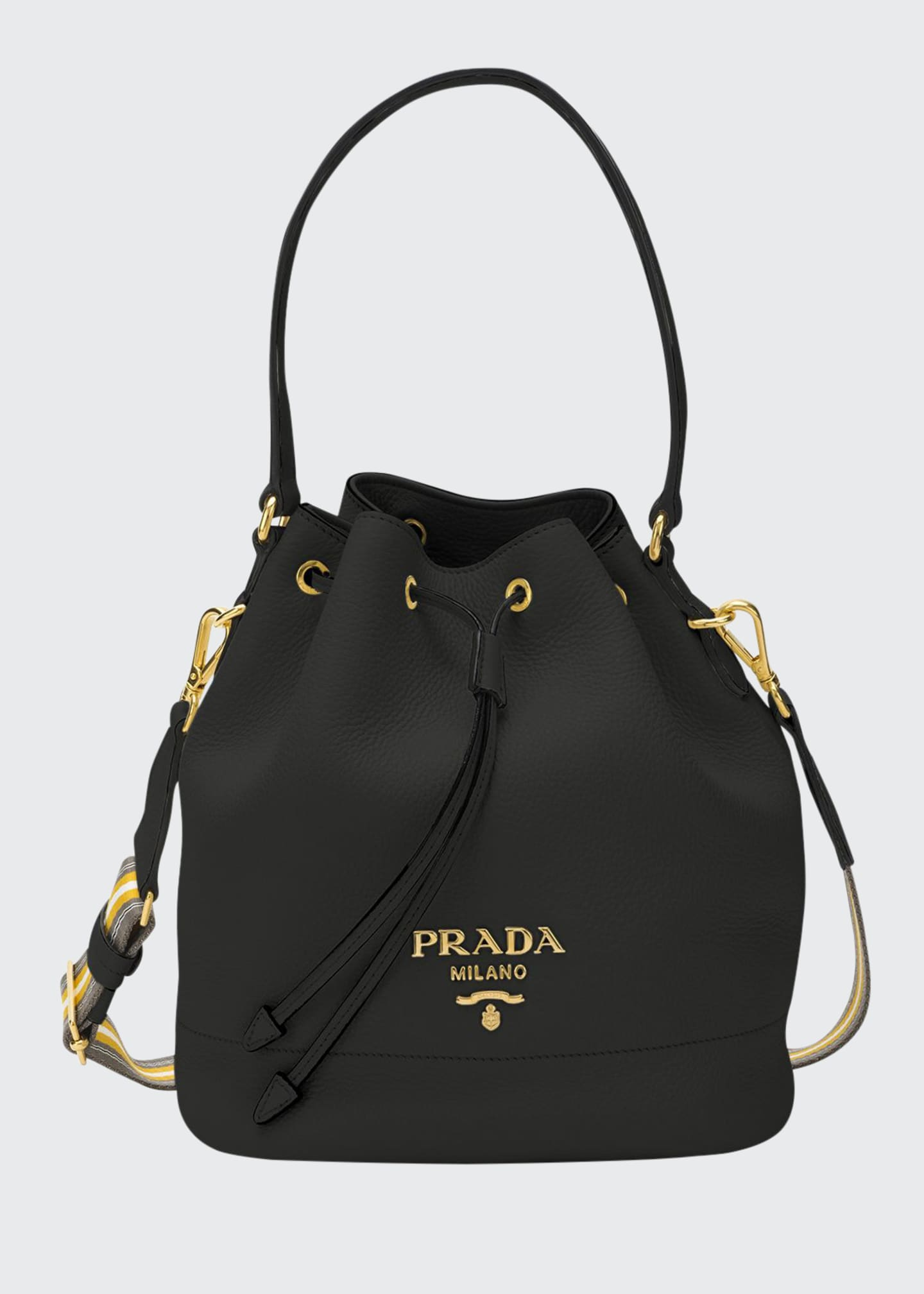 Prada Daino Bucket Bag