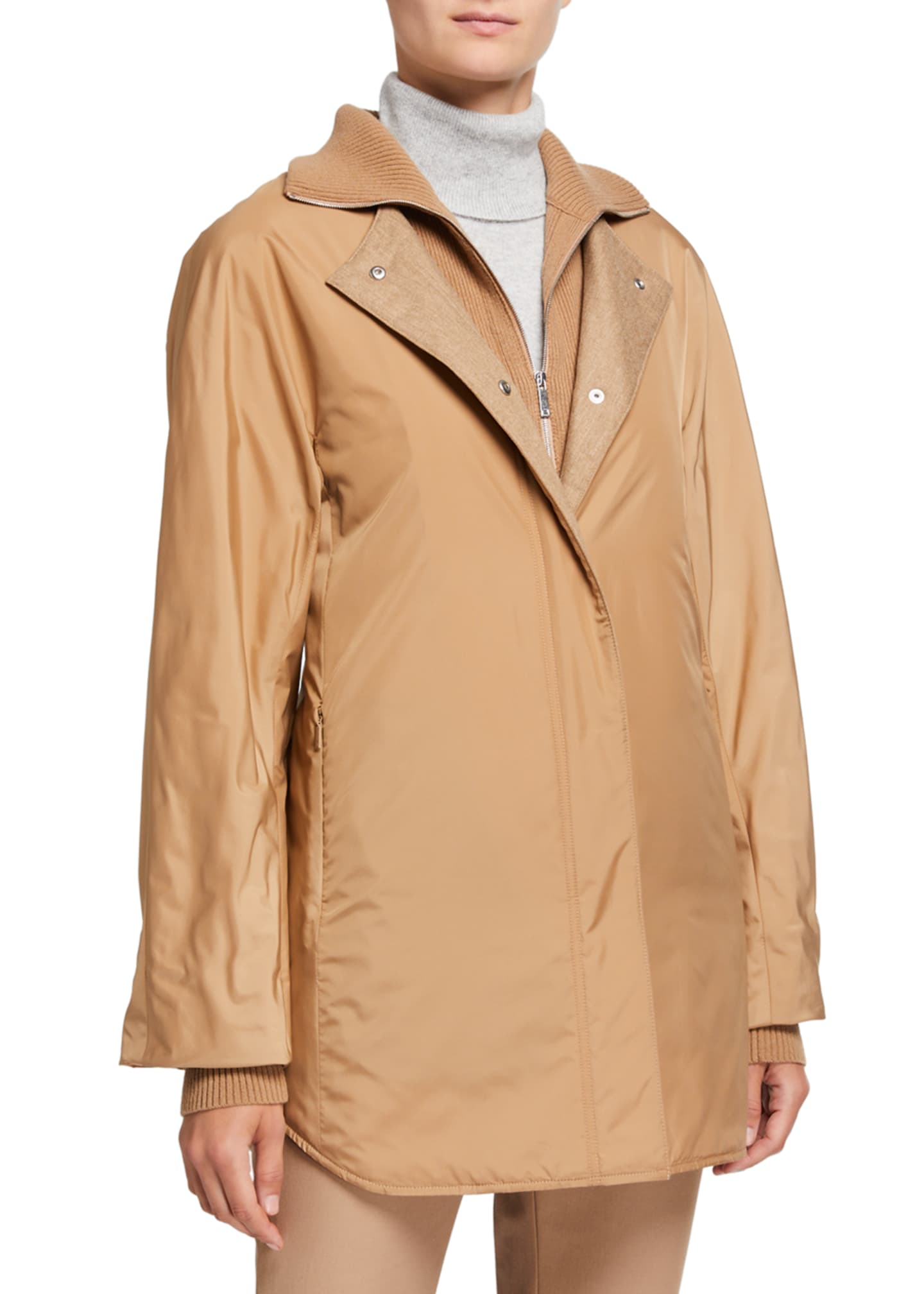 Lafayette 148 New York Mackay Alpine Outerwear Coat