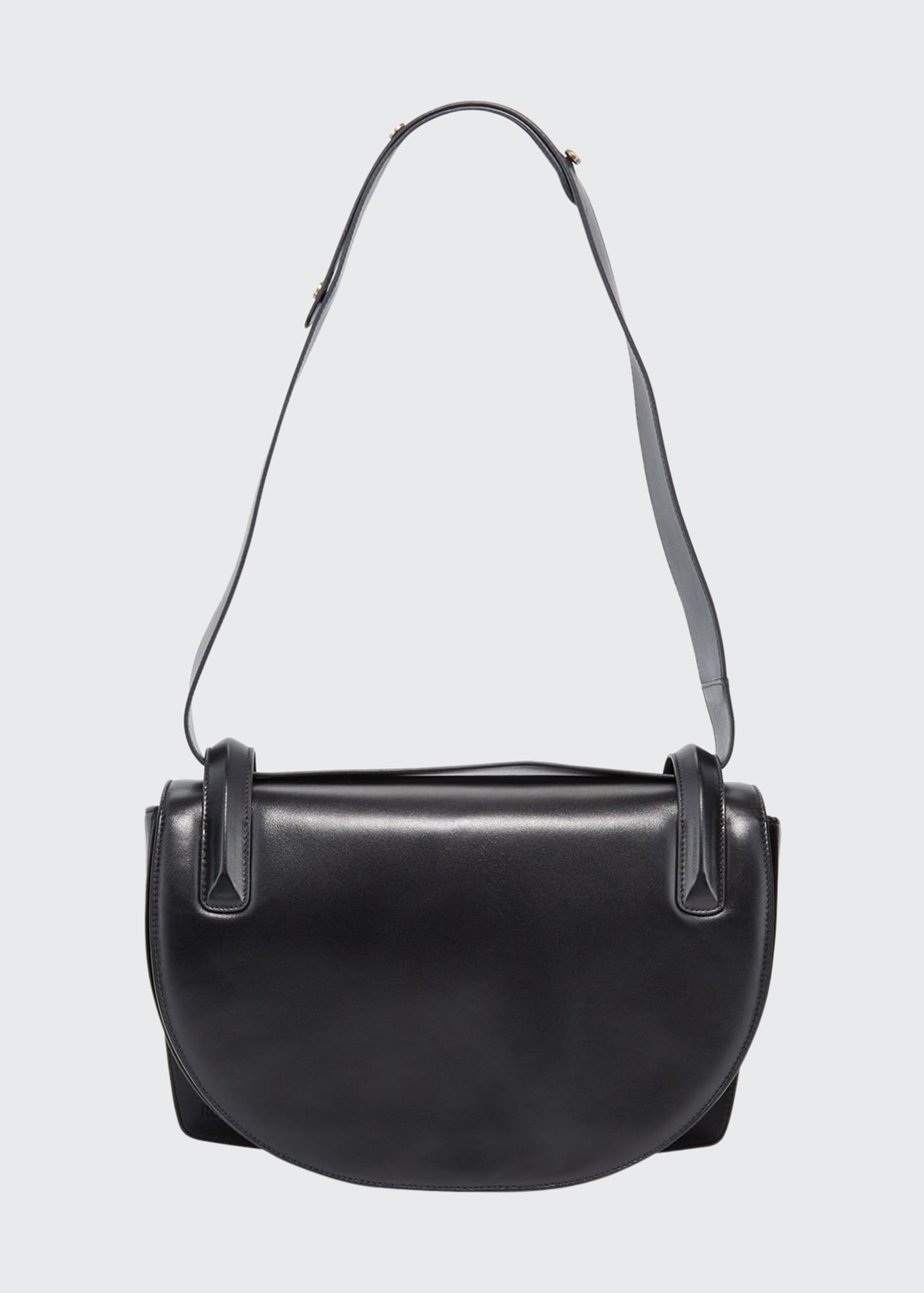RODO Flap Top Lamb Leather Shoulder Bag