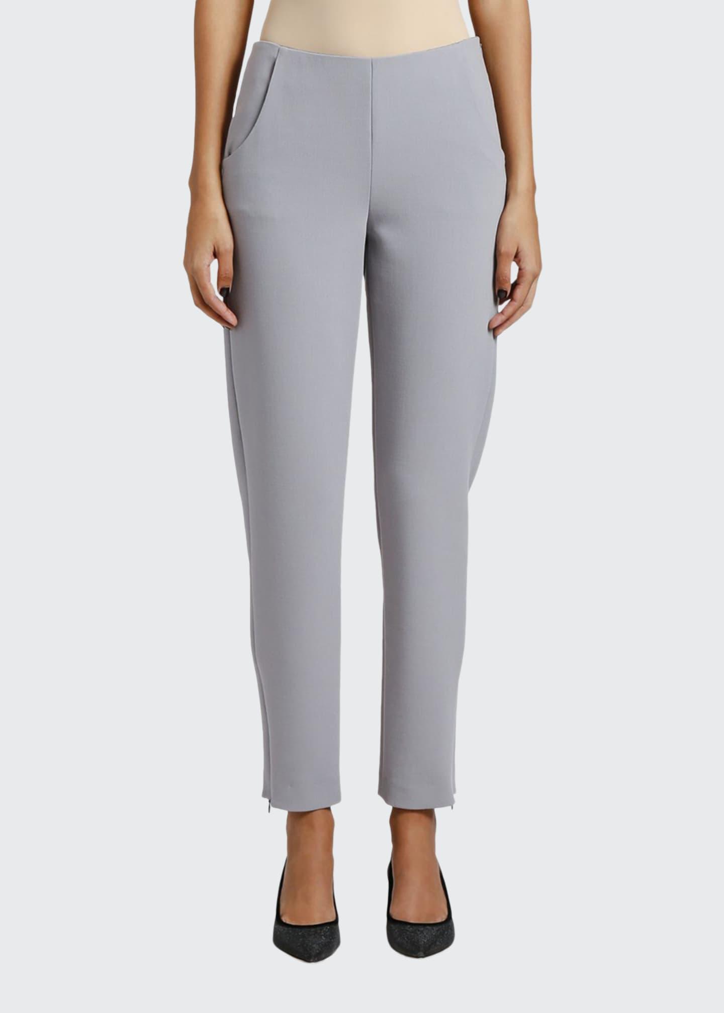 Giorgio Armani Skinny Zip-Cuff Pants