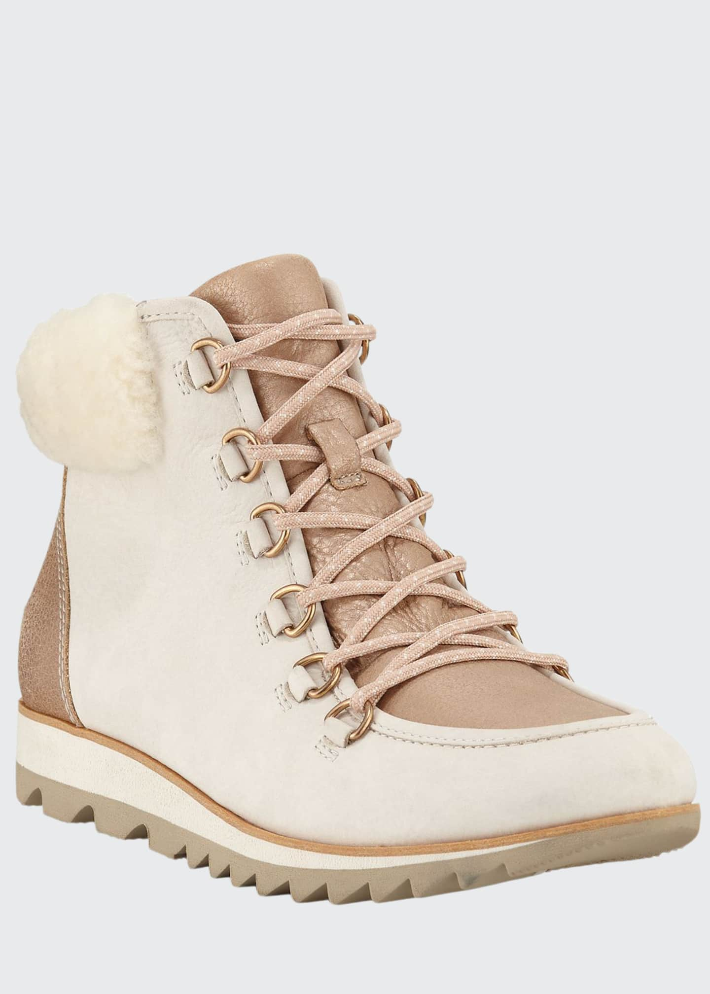 Sorel Harlow Lace-Up Lux Boots