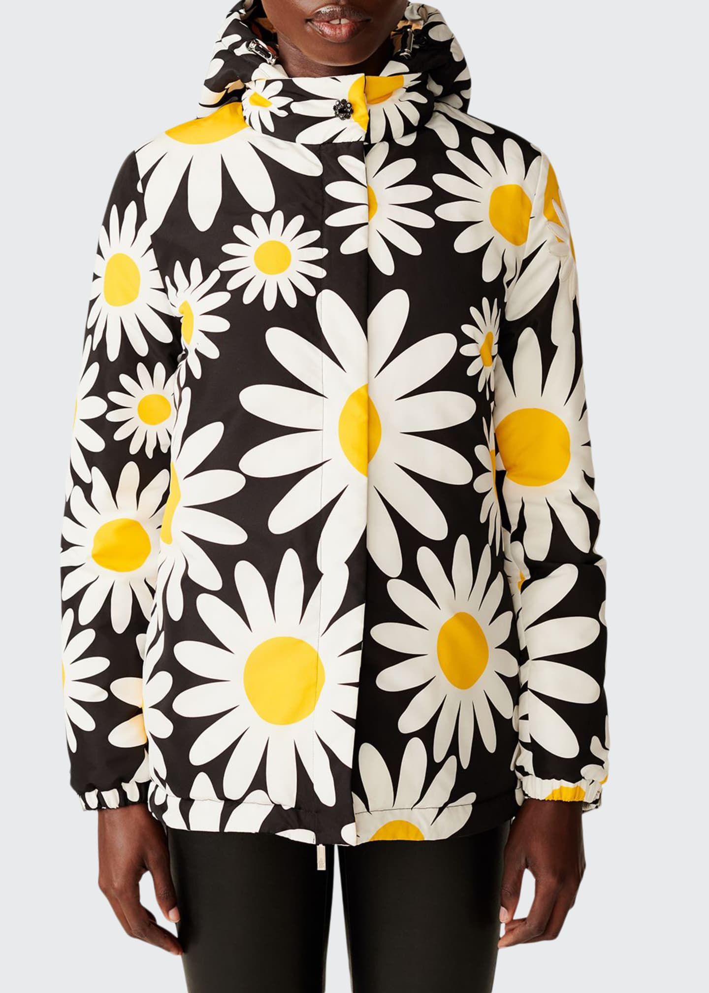Image 1 of 2: Richard Quinn Hooded Daisy Jacket