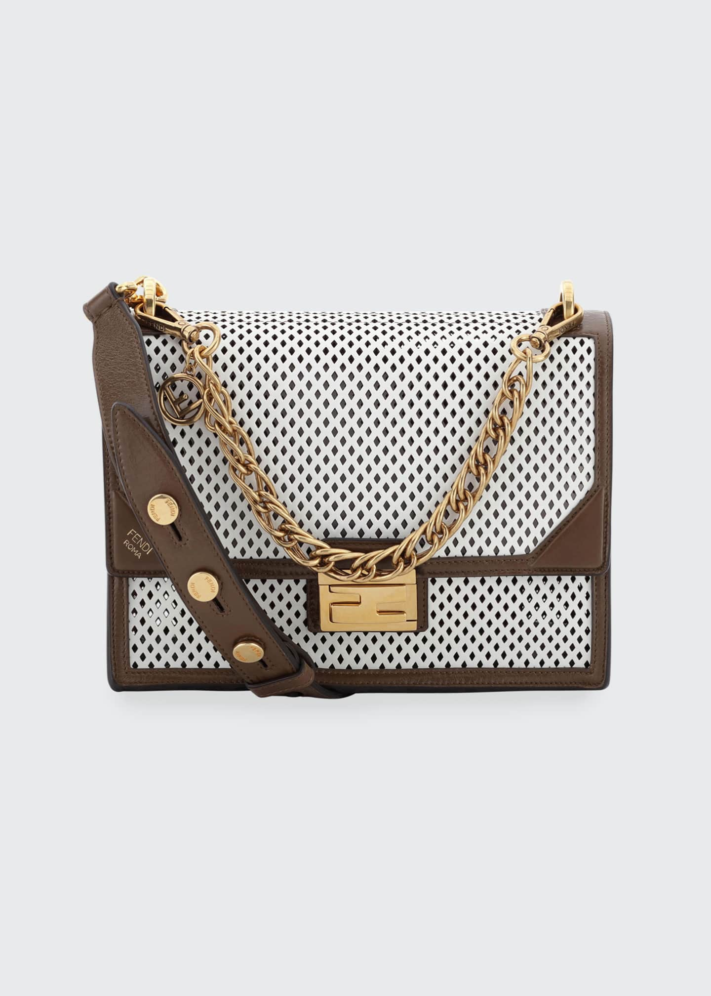 Fendi Kan U Regular Cutout Shoulder Bag