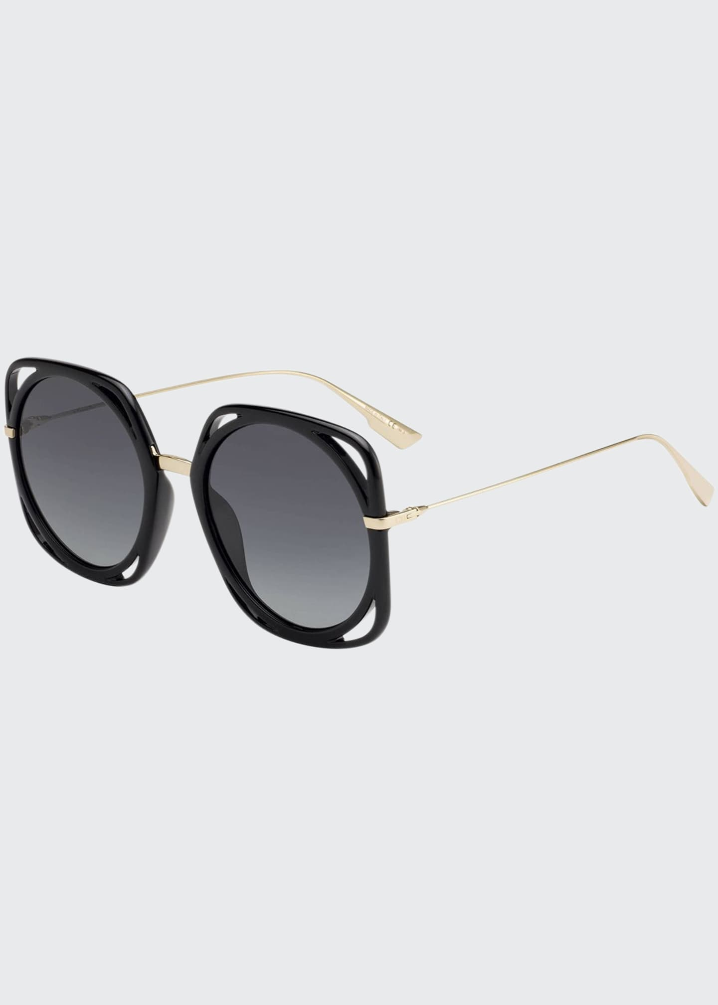 Image 1 of 1: Directions Cutout Gradient Sunglasses