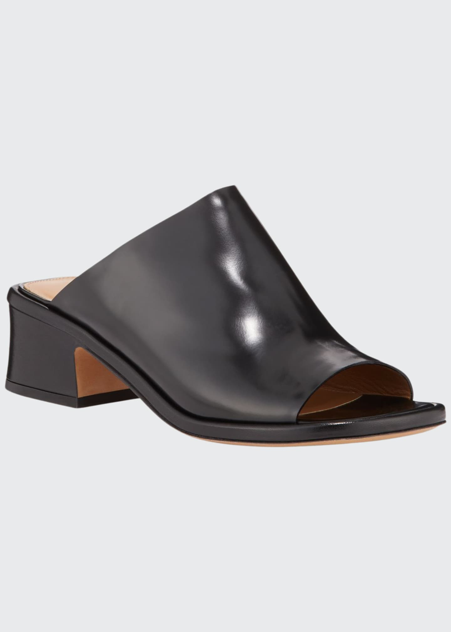 Dries Van Noten Smooth Calf 45mm Mules