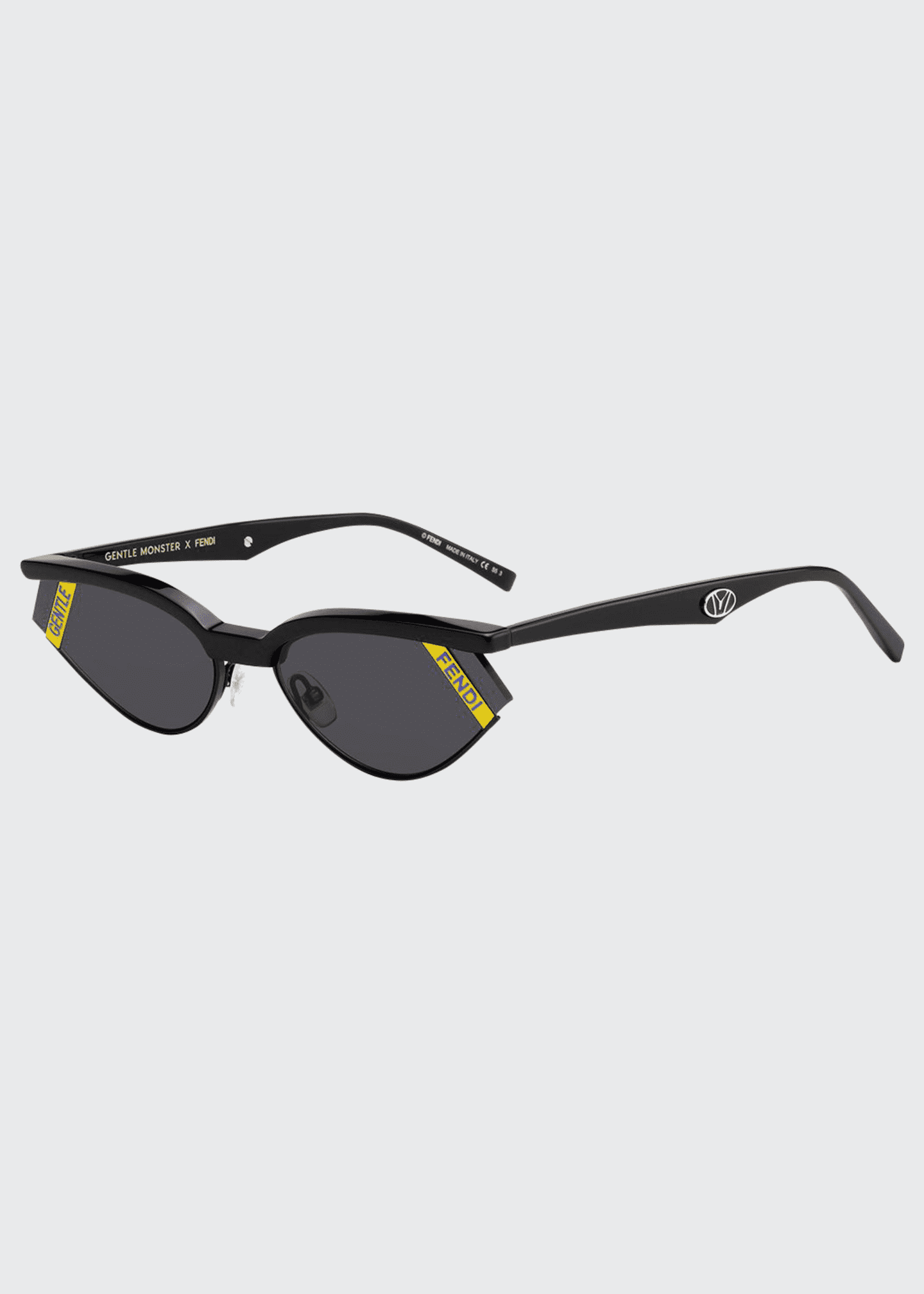 Fendi x Gentle Monster Oval Sunglasses