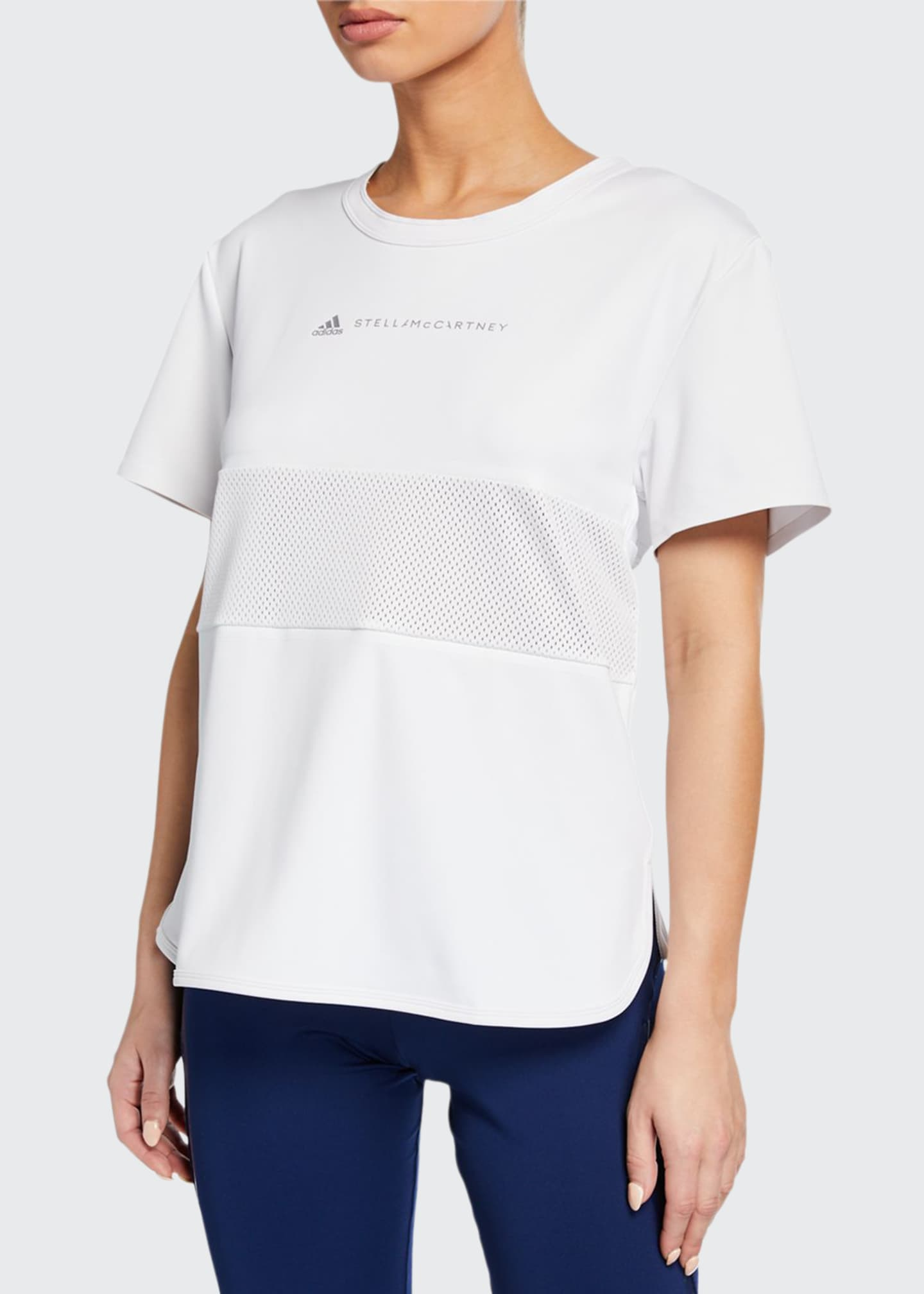 adidas by Stella McCartney Run Loose Short-Sleeve Athletic