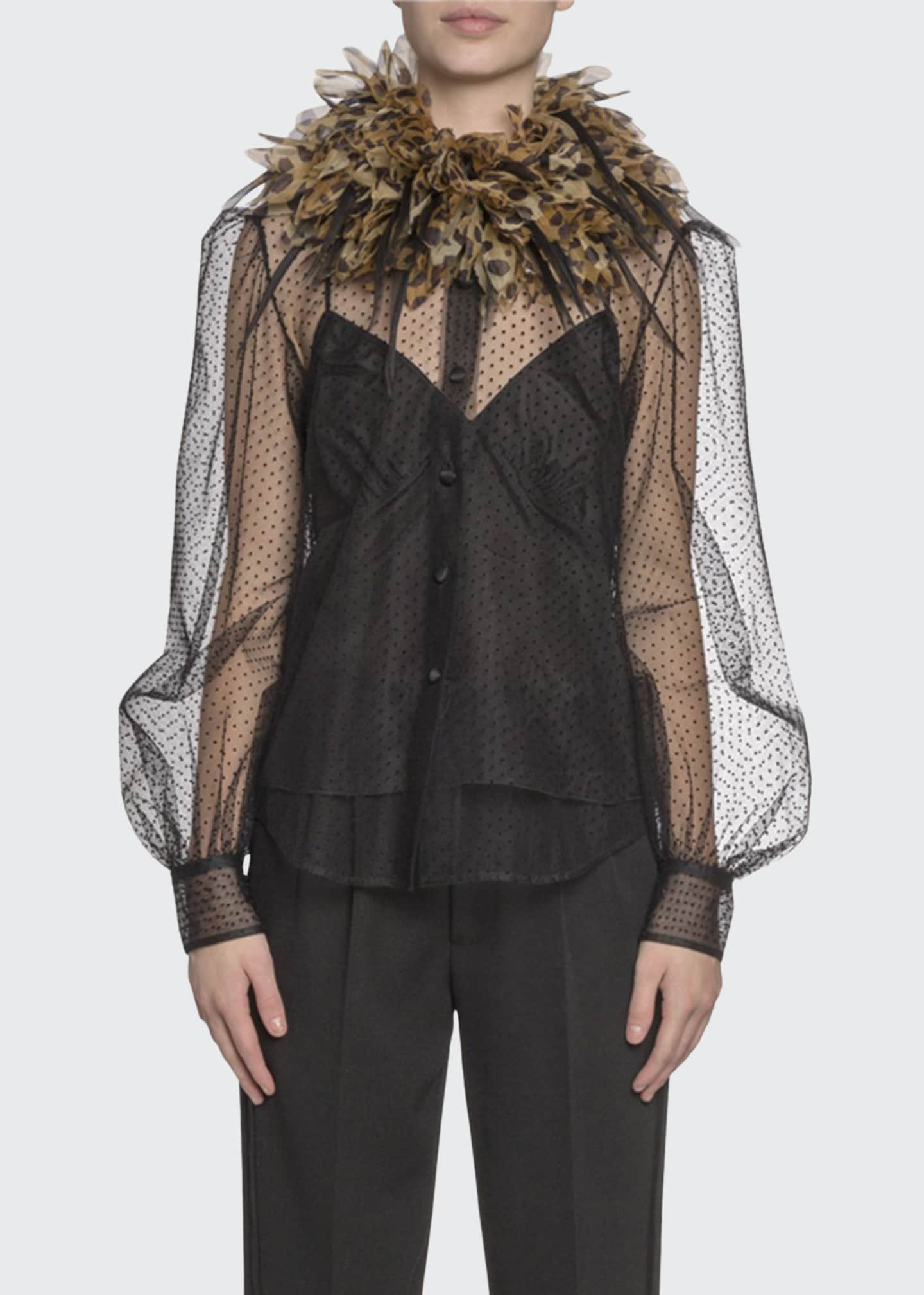 Marc Jacobs (Runway) Button-Front Blouse