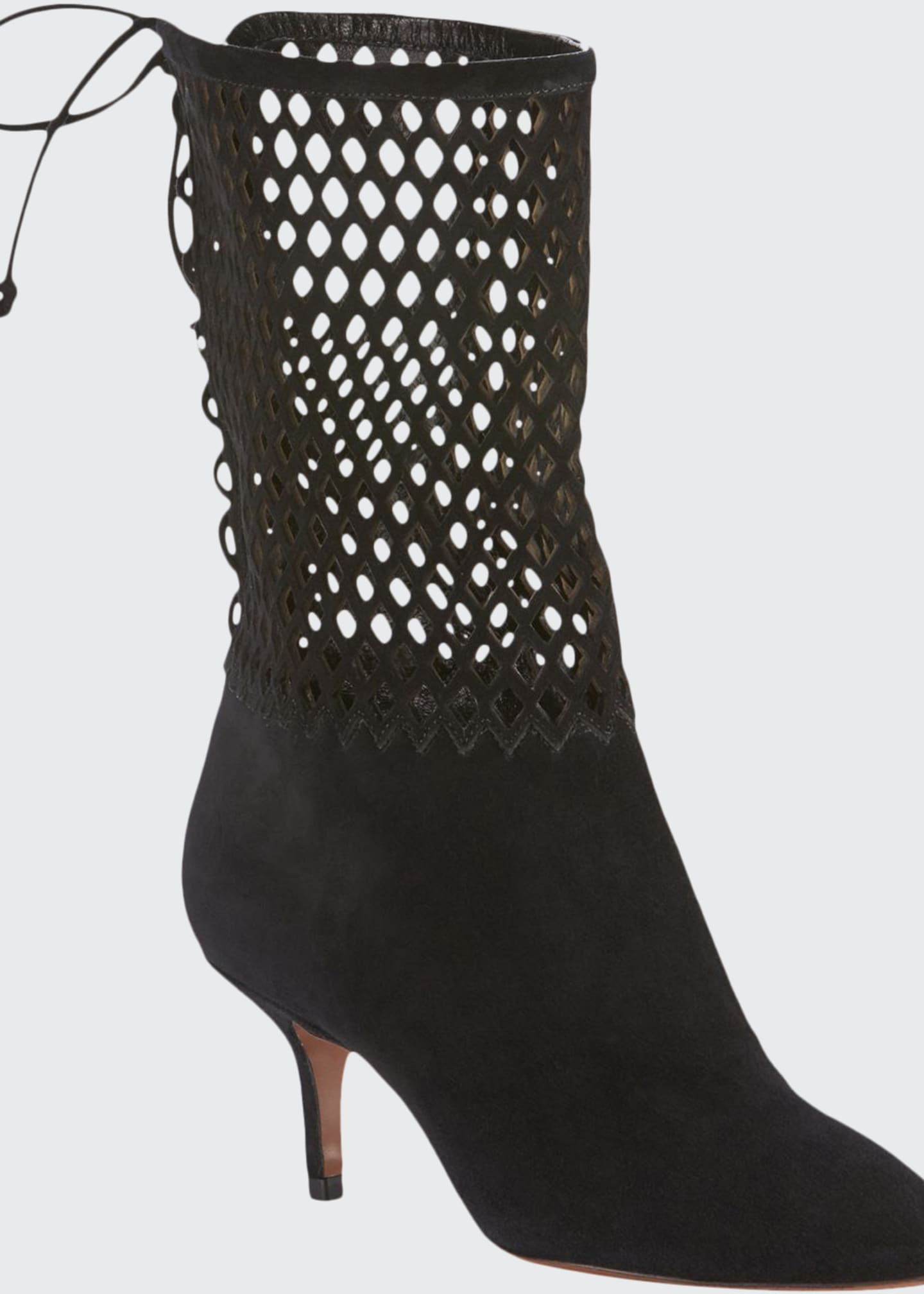 Image 1 of 4: Chamoise Laser-Cut Booties